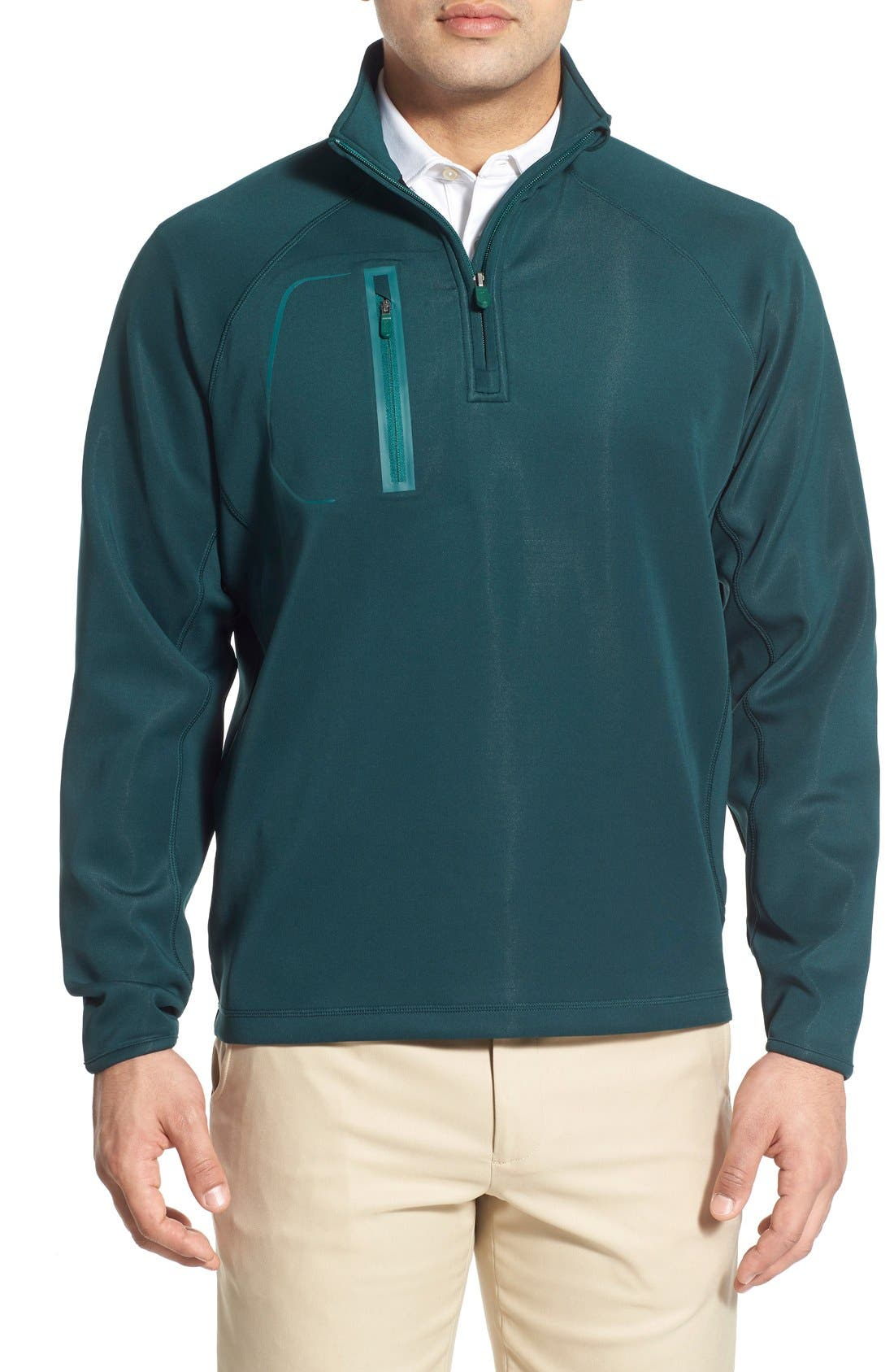 XH2O Crawford Stretch Quarter Zip Golf Pullover,                             Main thumbnail 7, color,