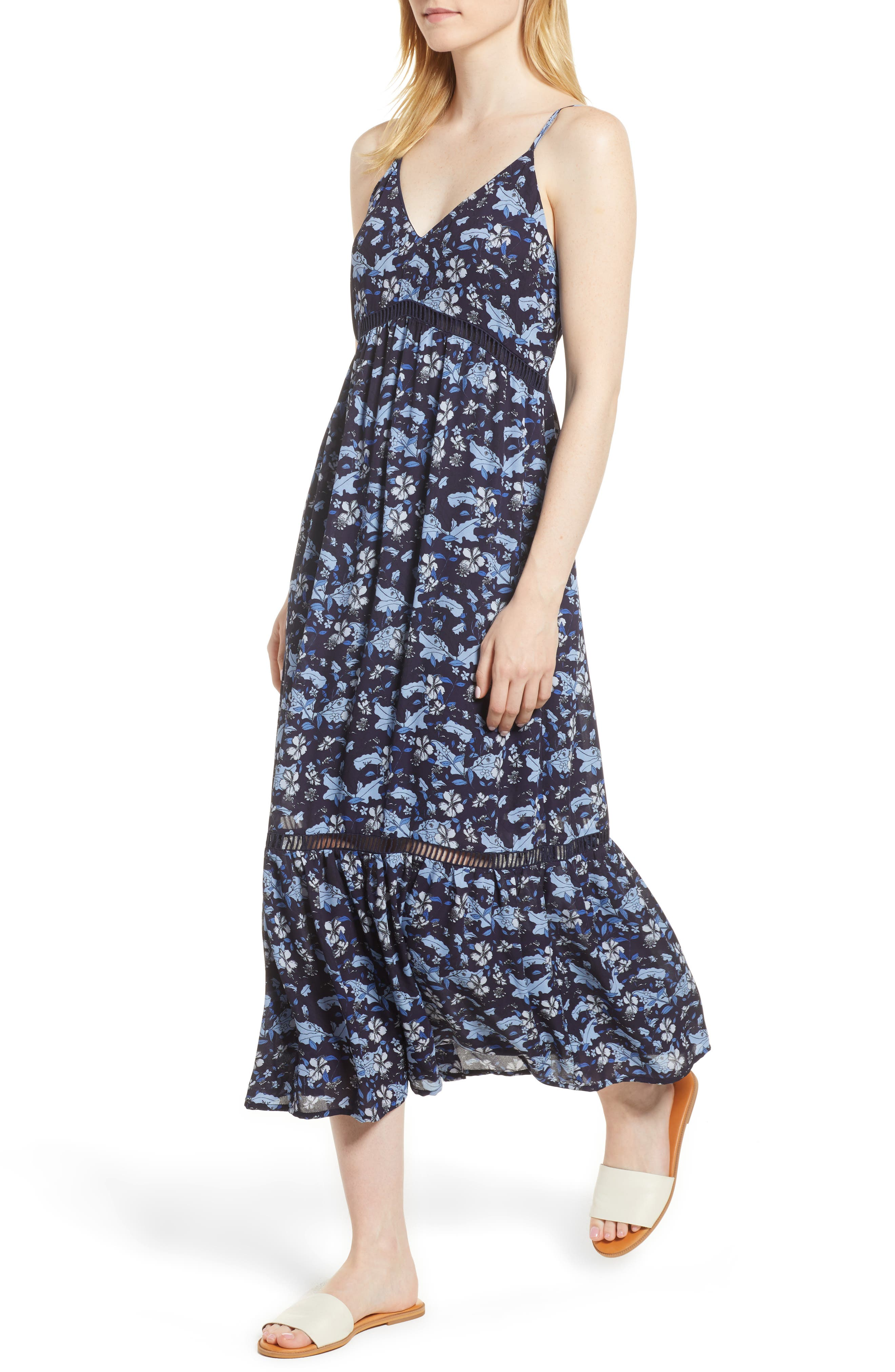 Ivy Forest Maxi Dress,                             Main thumbnail 1, color,