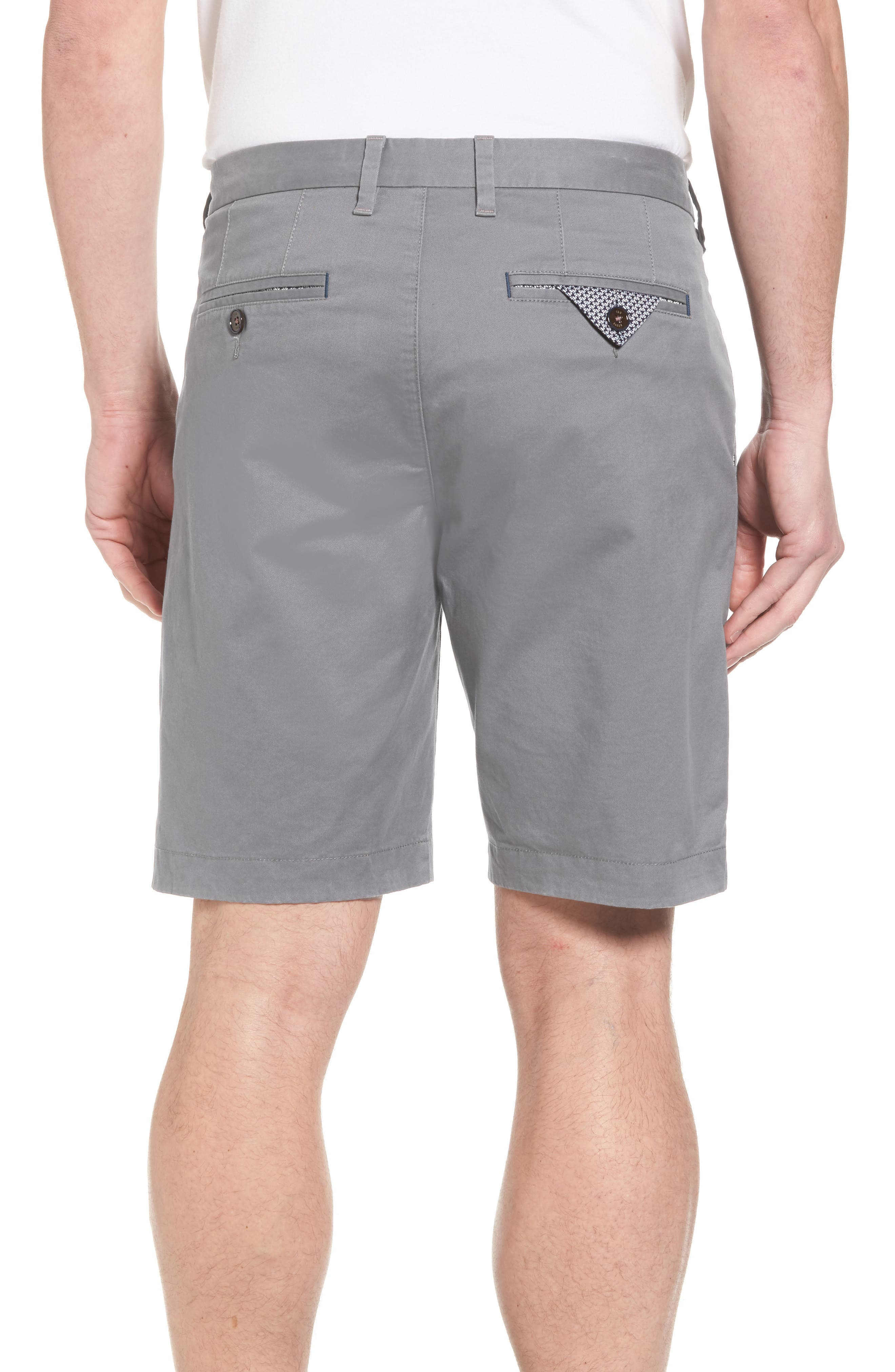 Proshor Slim Fit Chino Shorts,                             Alternate thumbnail 2, color,                             050