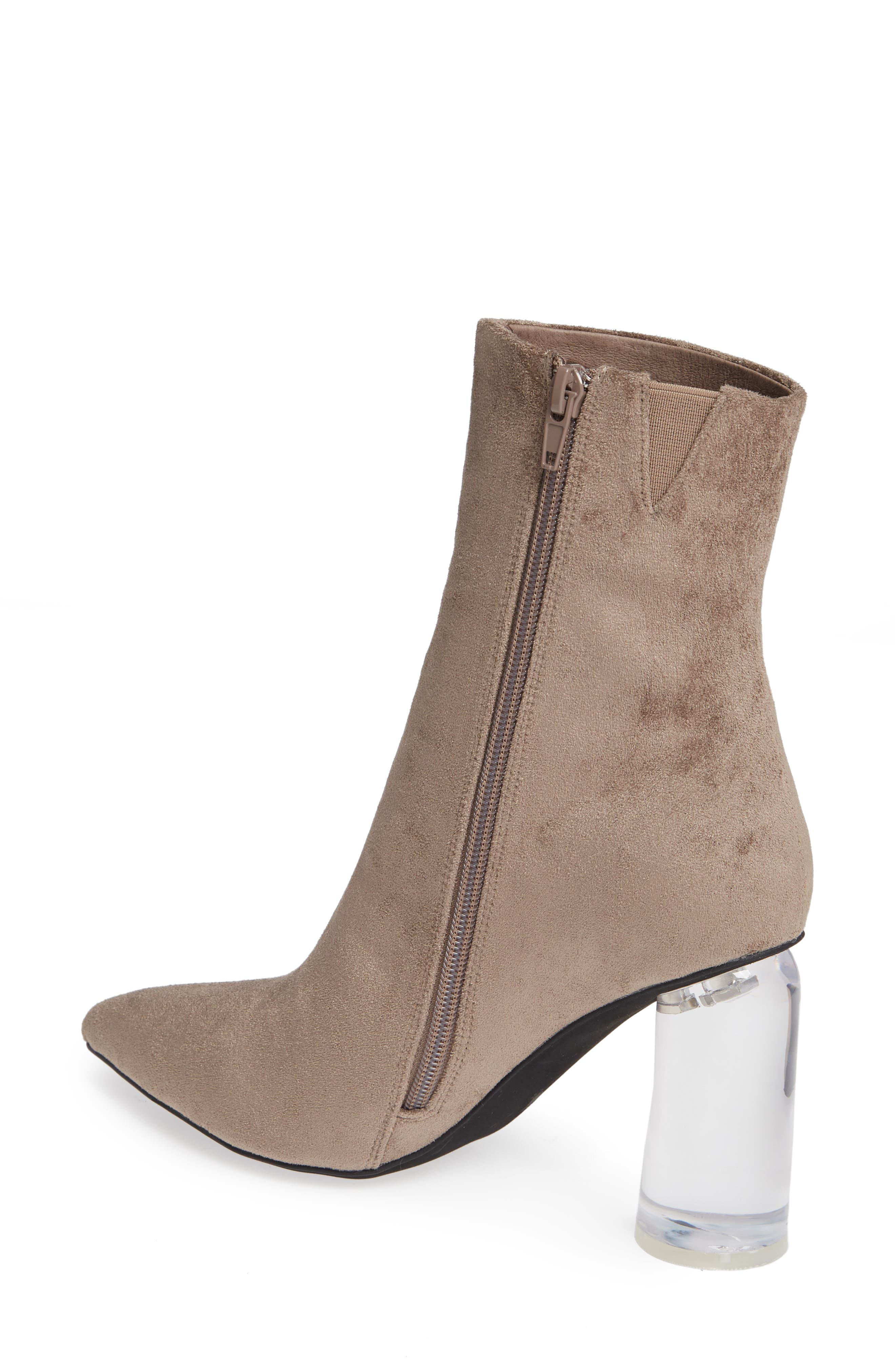 Lustful Bootie,                             Alternate thumbnail 2, color,                             TAUPE SUEDE