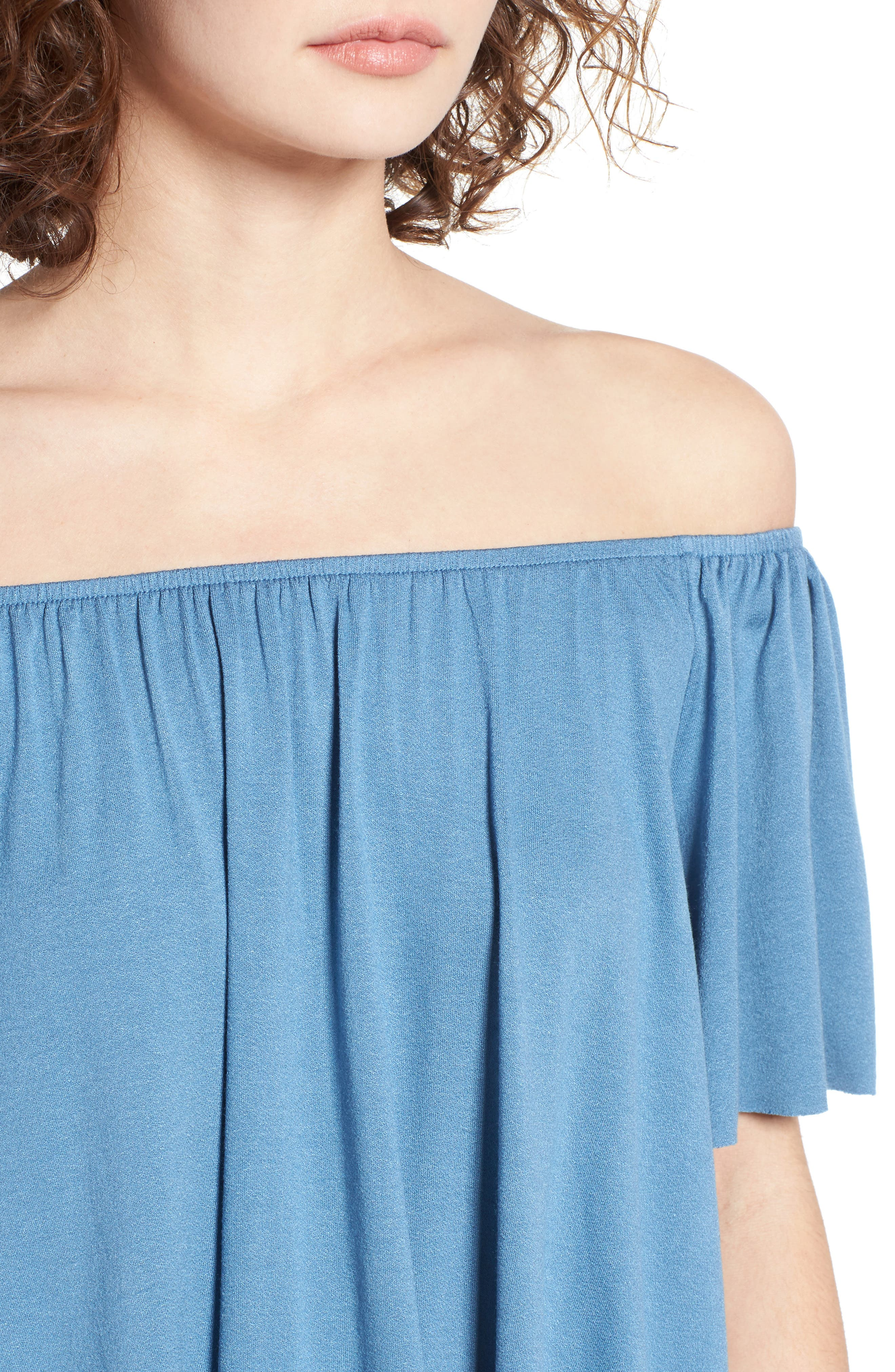 Off the Shoulder Top,                             Alternate thumbnail 28, color,