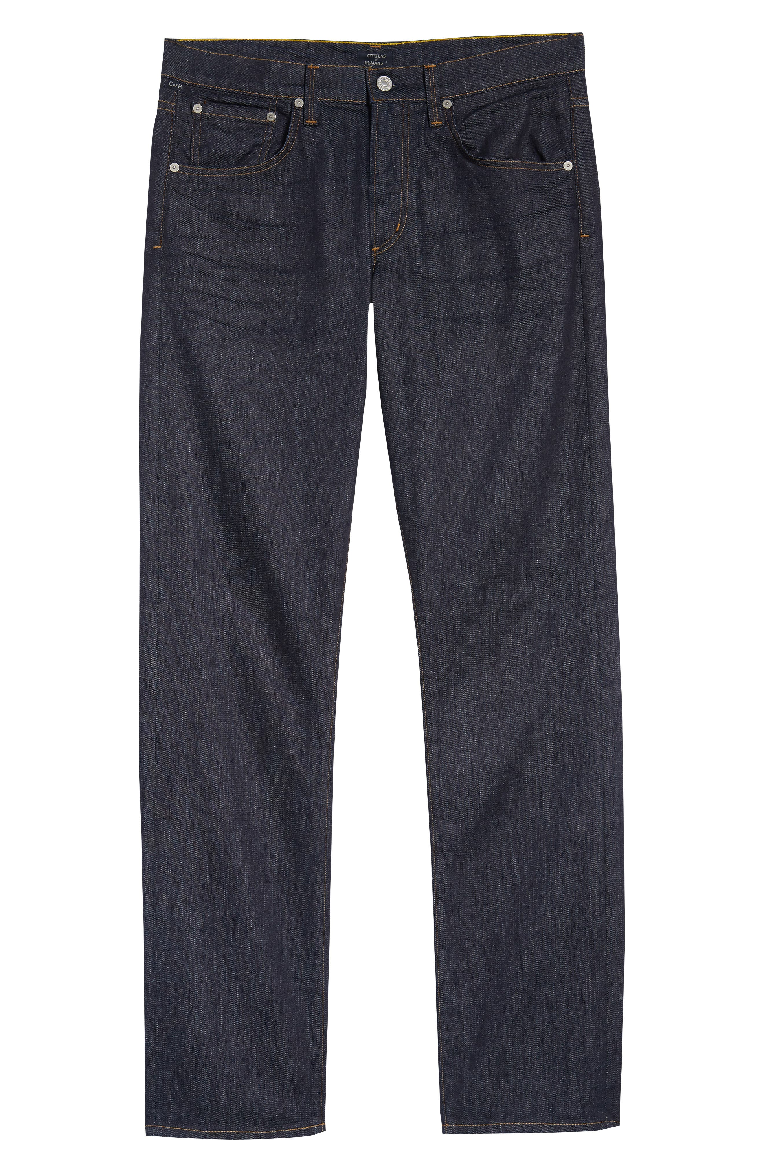 Perfect Relaxed Fit Jeans,                             Alternate thumbnail 6, color,                             LAFAYETTE