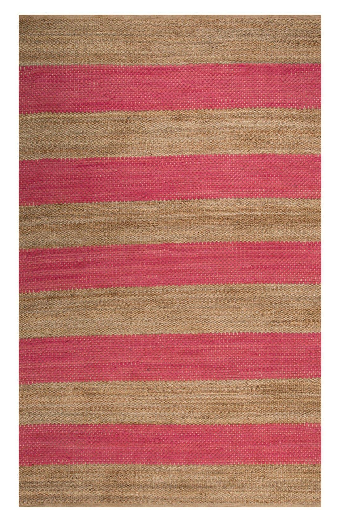 'nolita stripes' rug,                             Main thumbnail 3, color,
