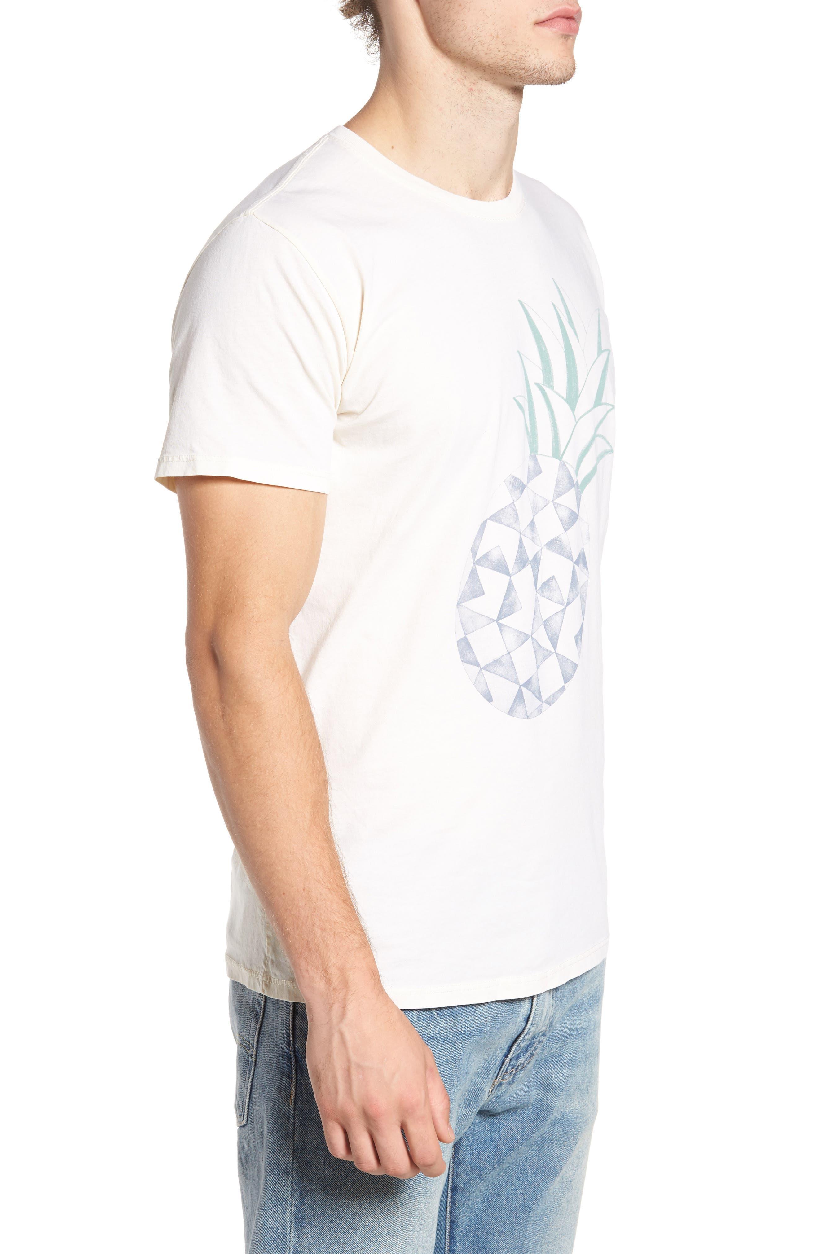 Pineapple Graphic T-Shirt,                             Alternate thumbnail 3, color,                             250