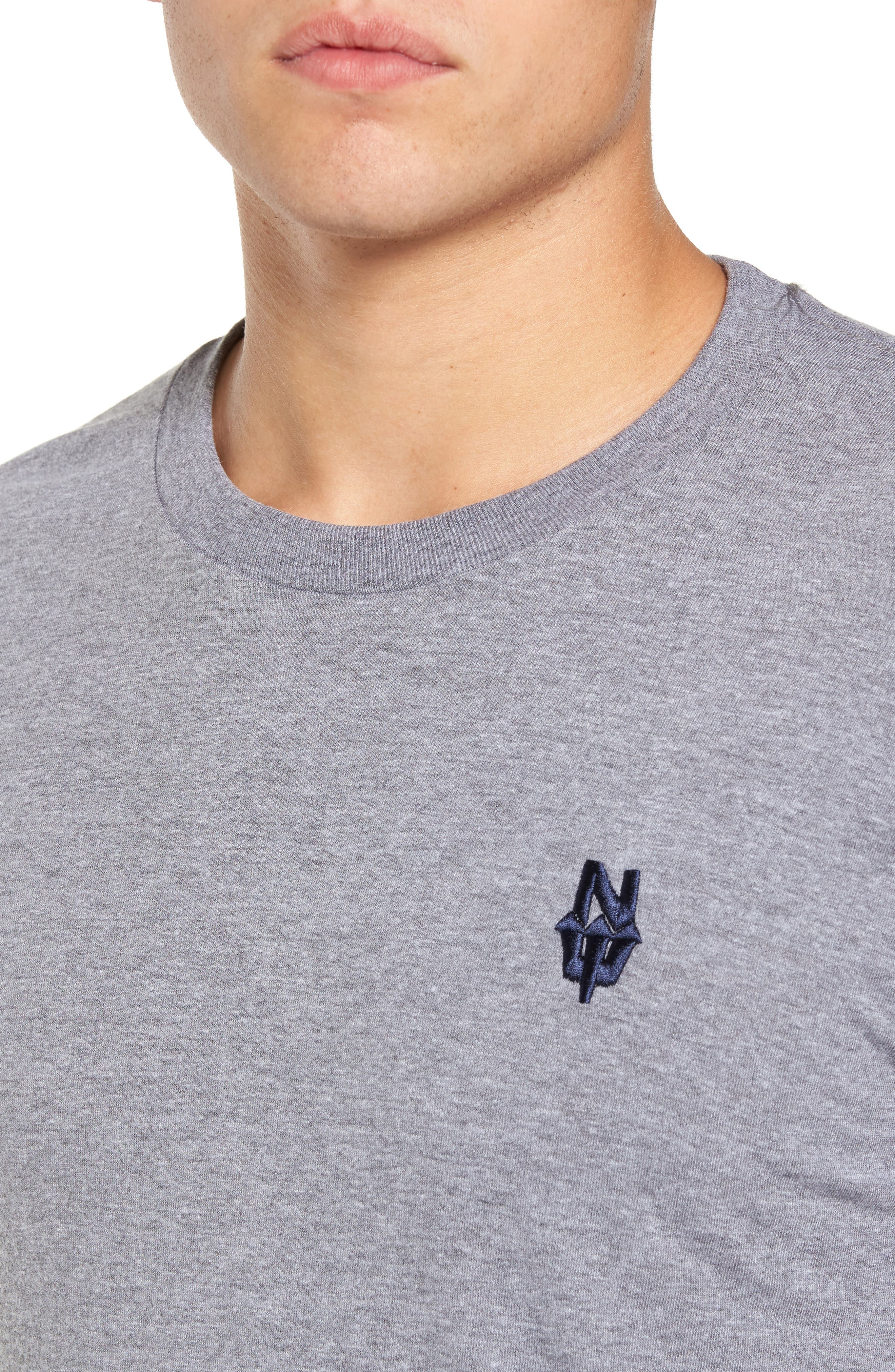 NW Trident Embroidered T-Shirt,                             Alternate thumbnail 11, color,