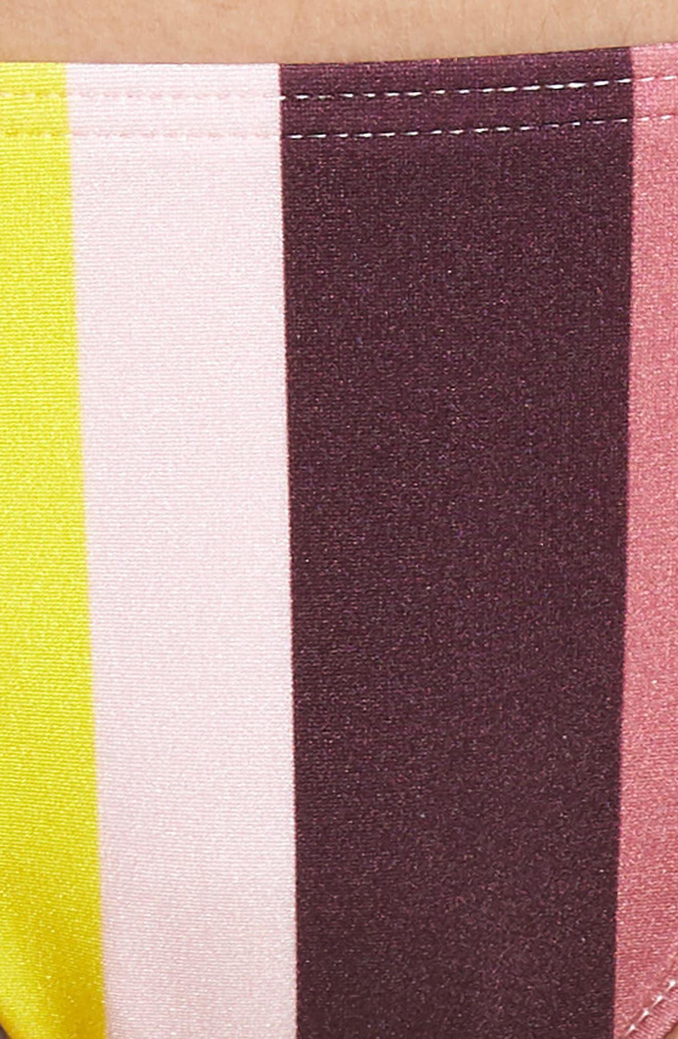 Side Tie Bikini Bottoms,                             Alternate thumbnail 5, color,                             LIGHT PINK