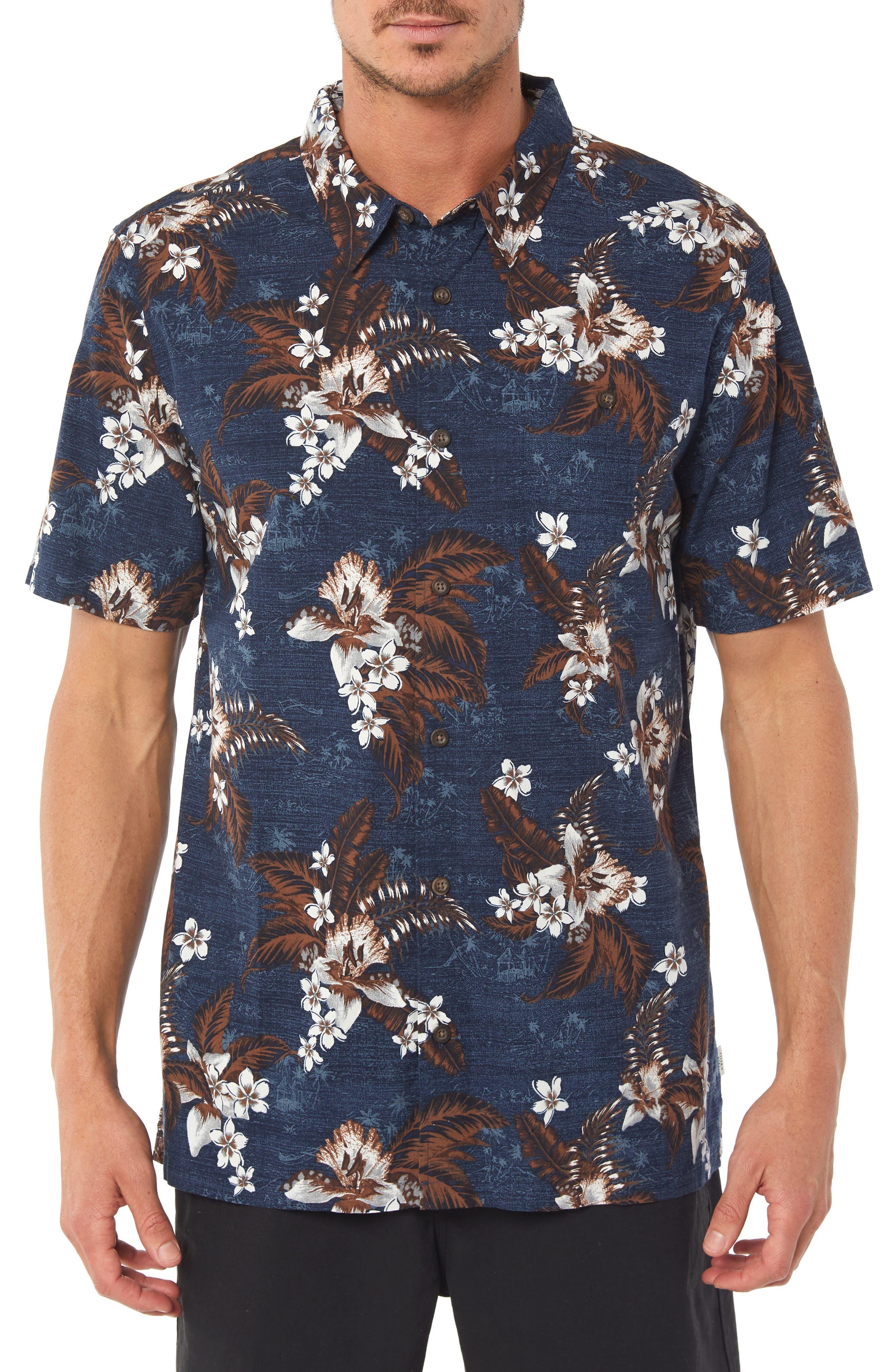 Coastline Regular Fit Sport Shirt,                         Main,                         color, NAVY
