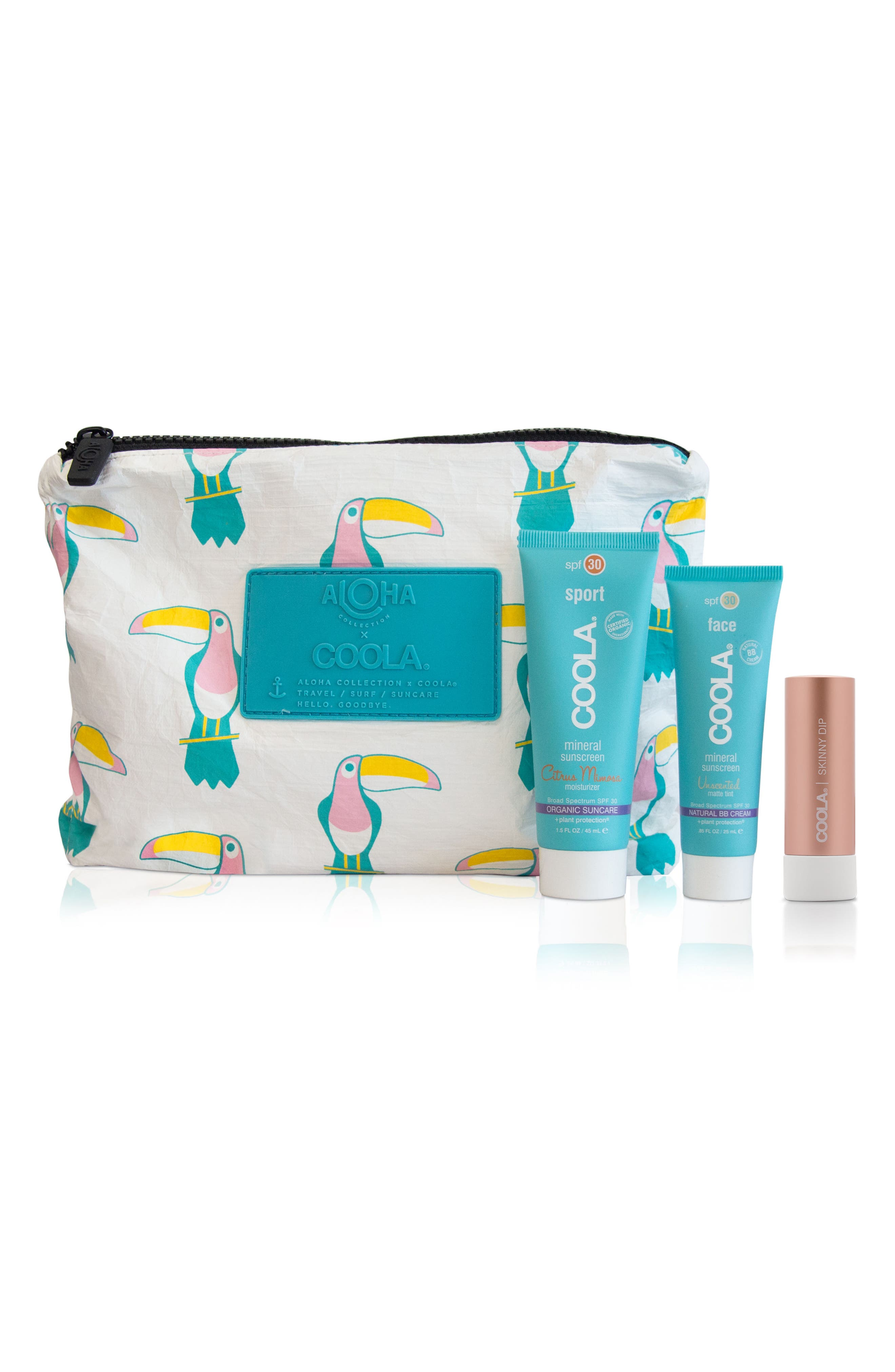 COOLA<sup>®</sup> Suncare x ALOHA Travel Set,                             Main thumbnail 1, color,                             000