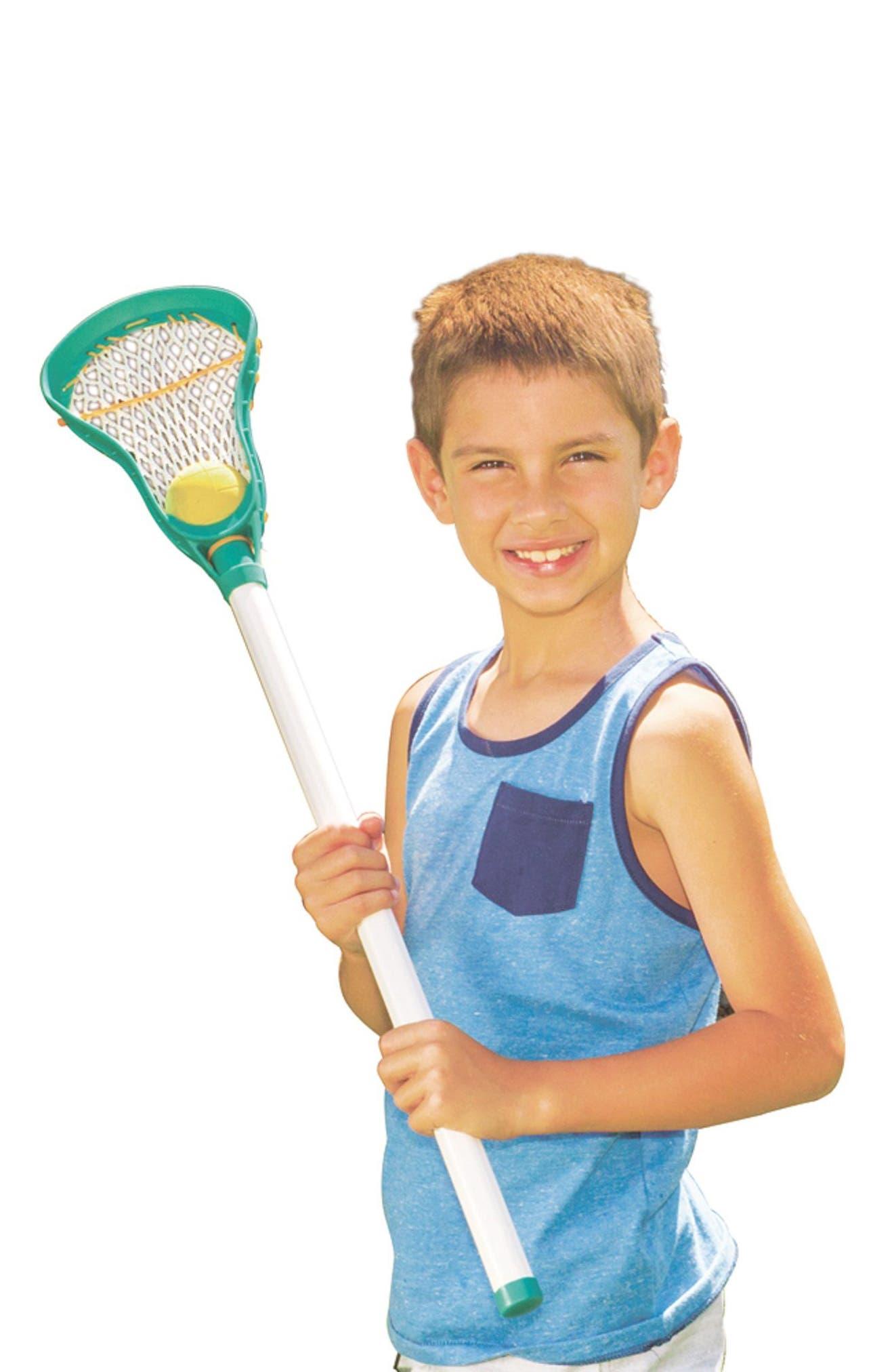 Lacrosse Set,                             Alternate thumbnail 2, color,                             BLUE