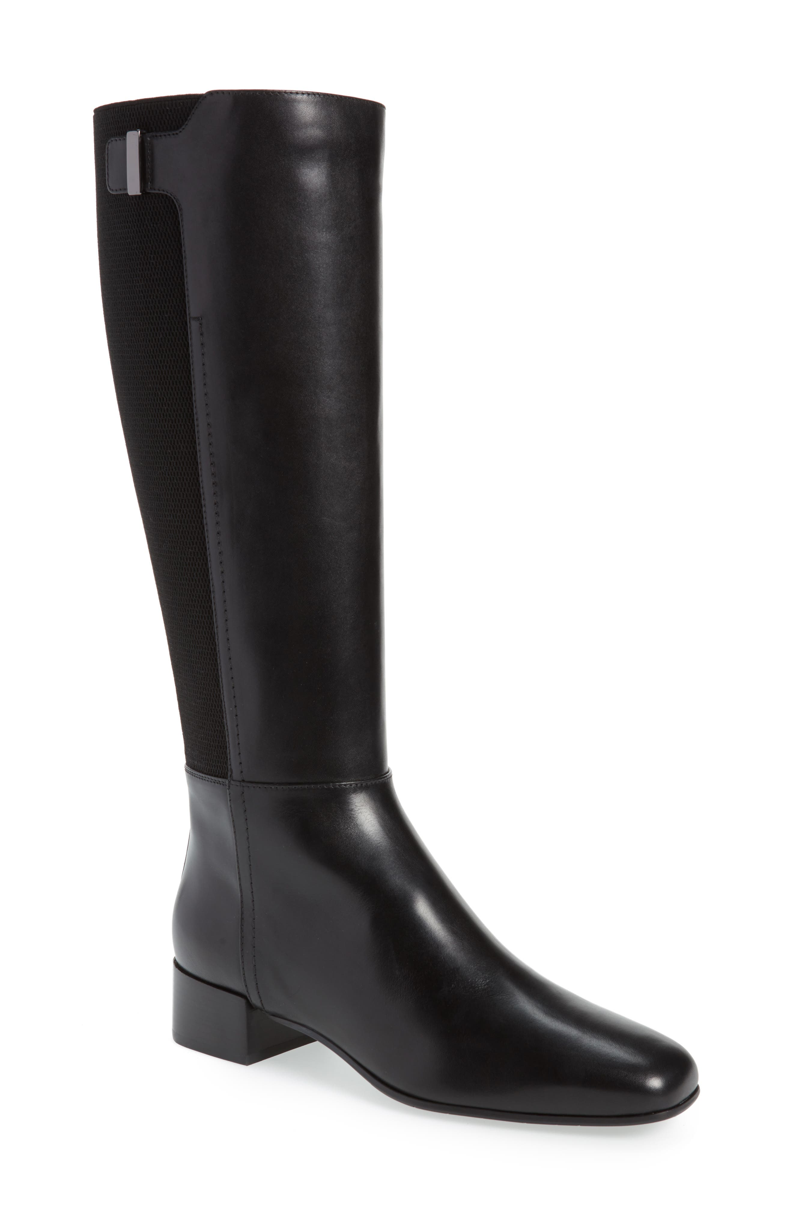 Letizia Weatherproof Boot,                             Main thumbnail 1, color,                             BLACK