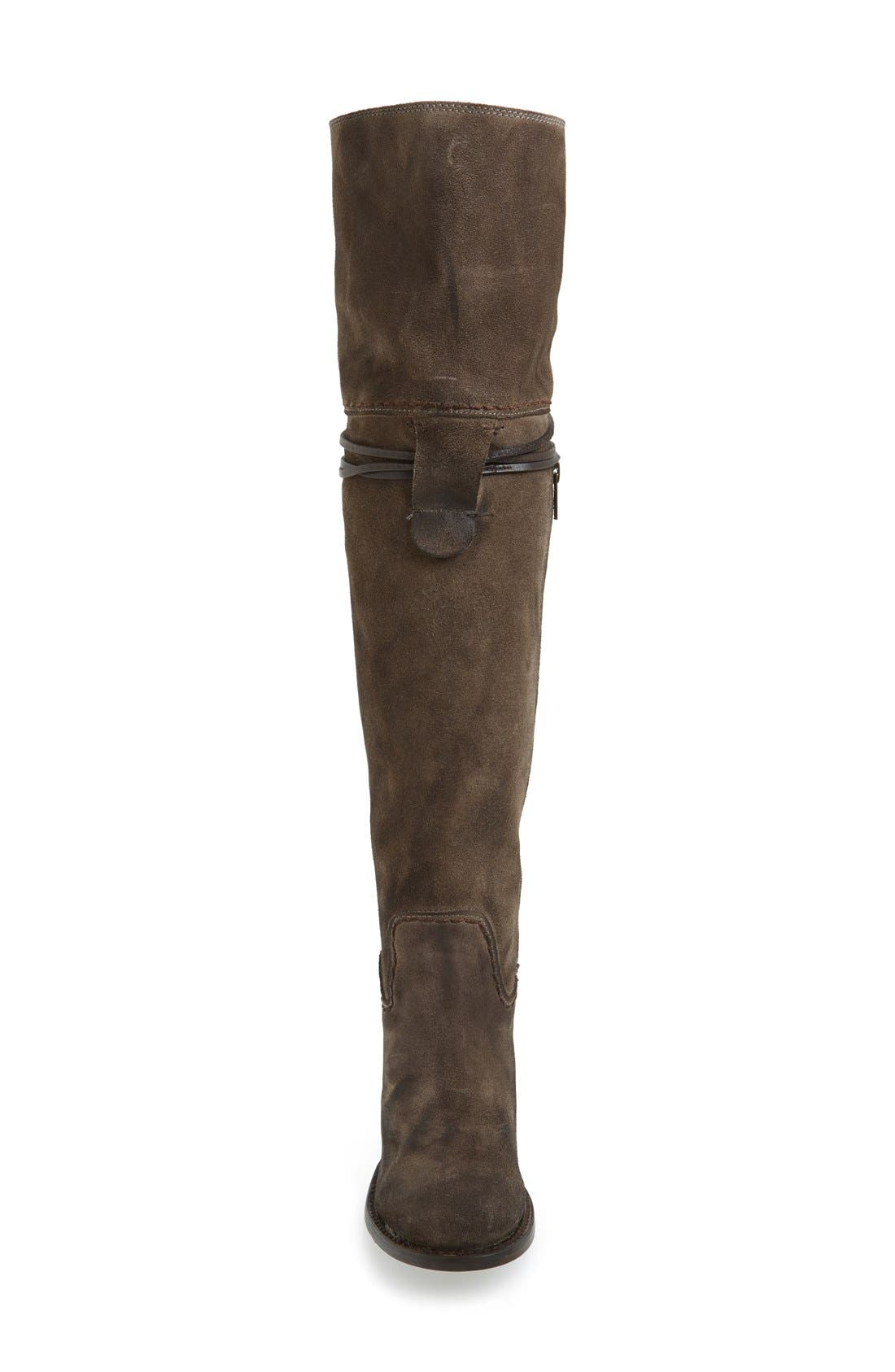 Brock Over the Knee Boot,                             Alternate thumbnail 3, color,                             020