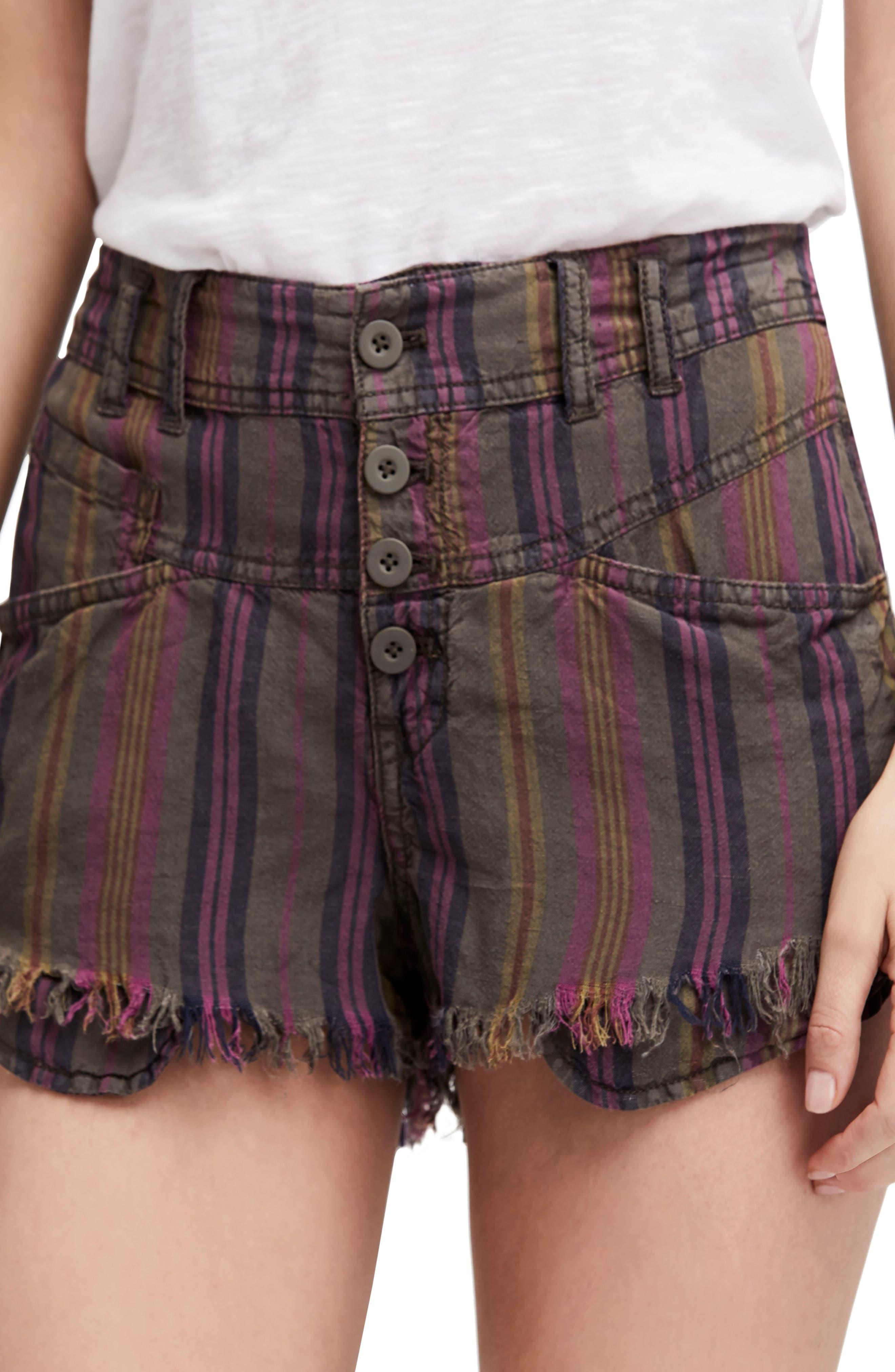 Morning Rain Cutoff Shorts,                             Main thumbnail 1, color,                             303