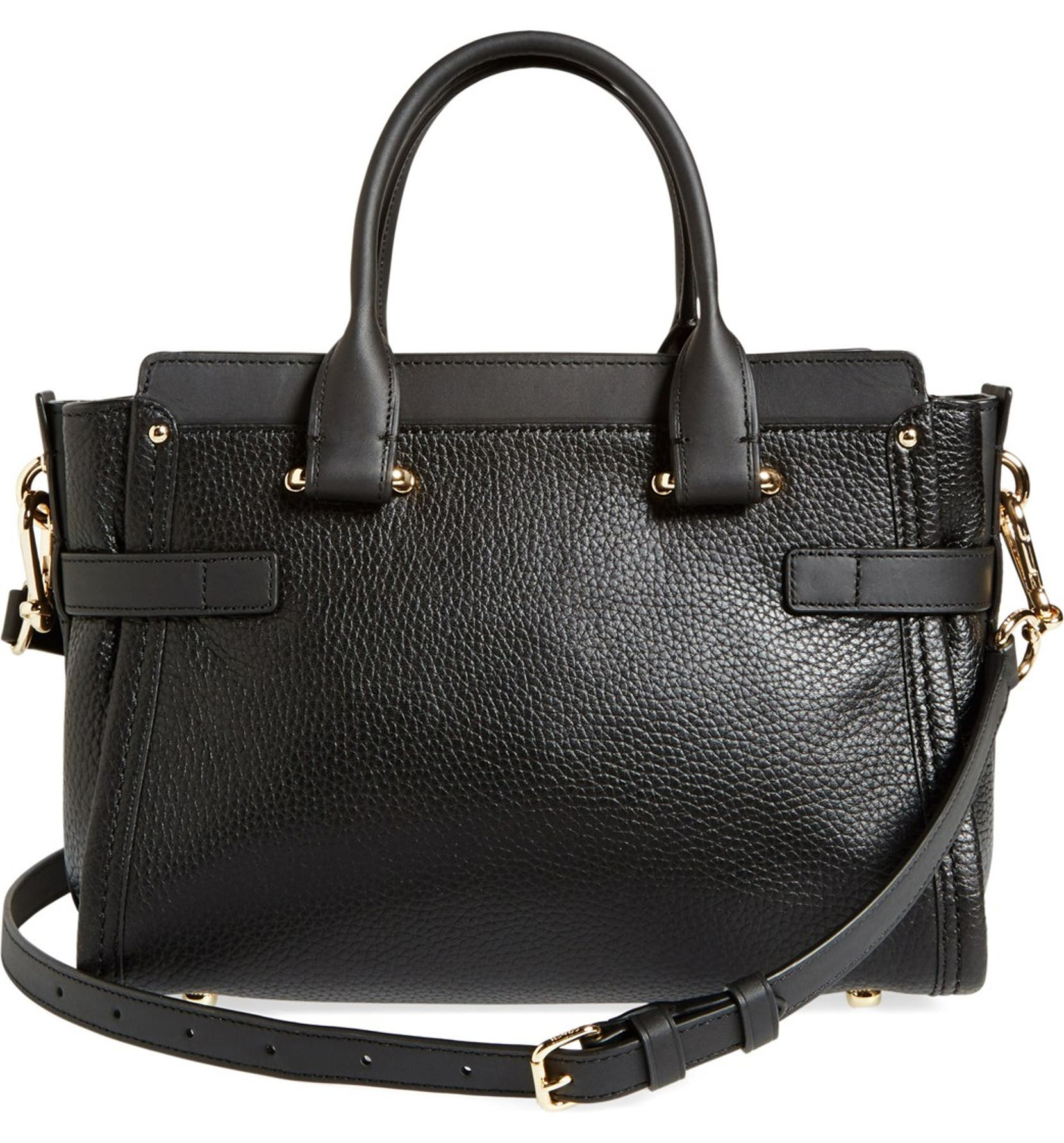 COACH  Swagger 27  Pebble Leather Satchel  fda15b9a24