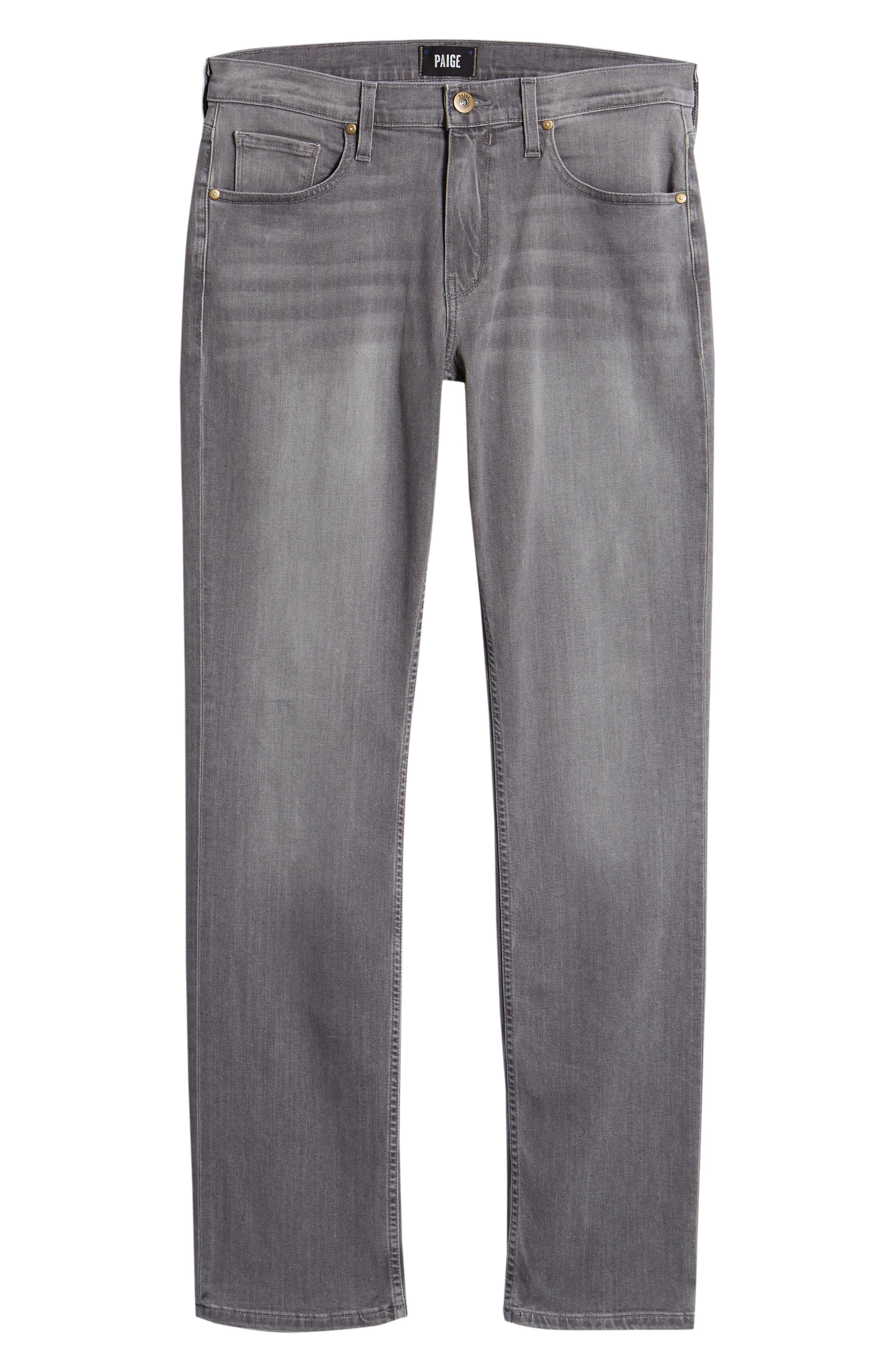 Normandie Straight Leg Jeans,                             Alternate thumbnail 6, color,                             030