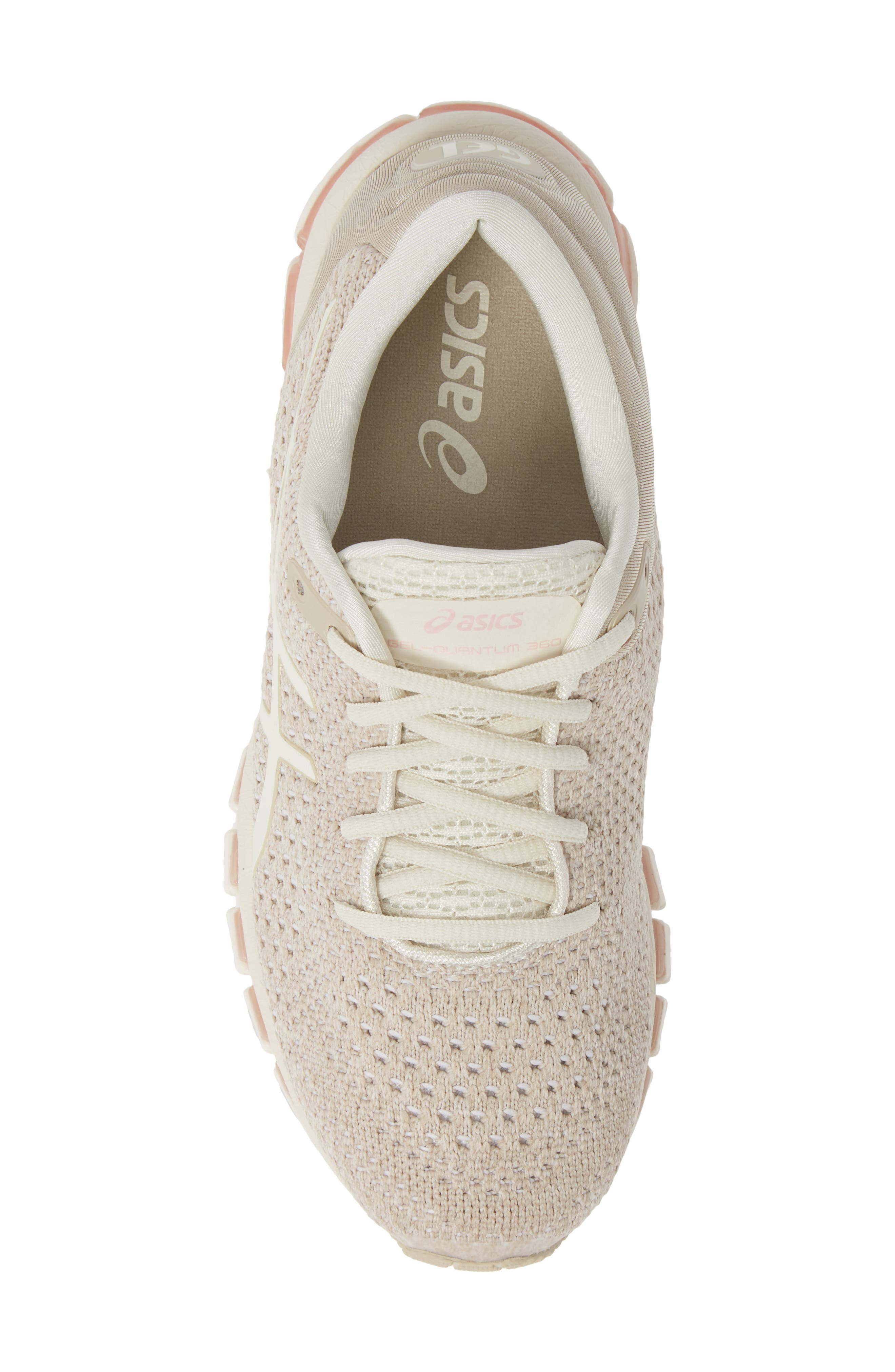 ASICS<SUP>®</SUP>,                             GEL-Quantum 360 Running Shoe,                             Alternate thumbnail 5, color,                             BIRCH/ FEATHER GREY