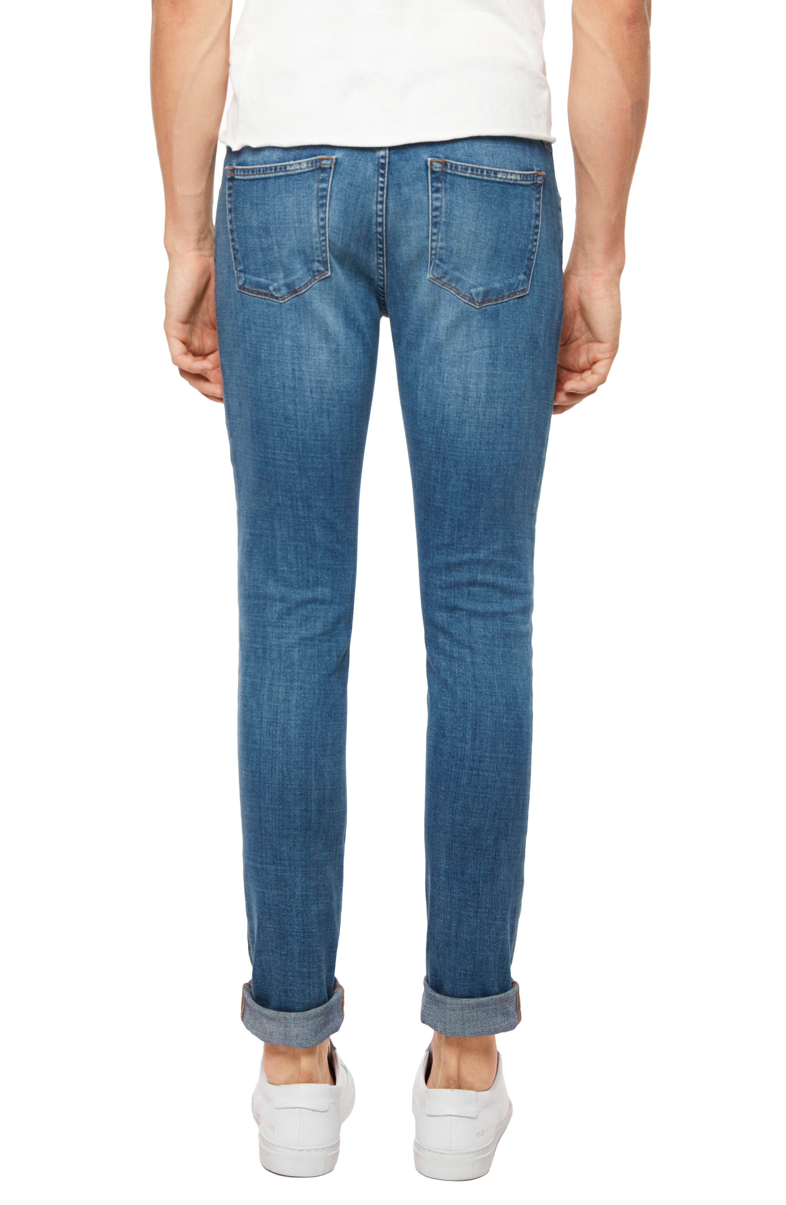 Tyler Slim Fit Jeans,                             Alternate thumbnail 2, color,                             SINTER