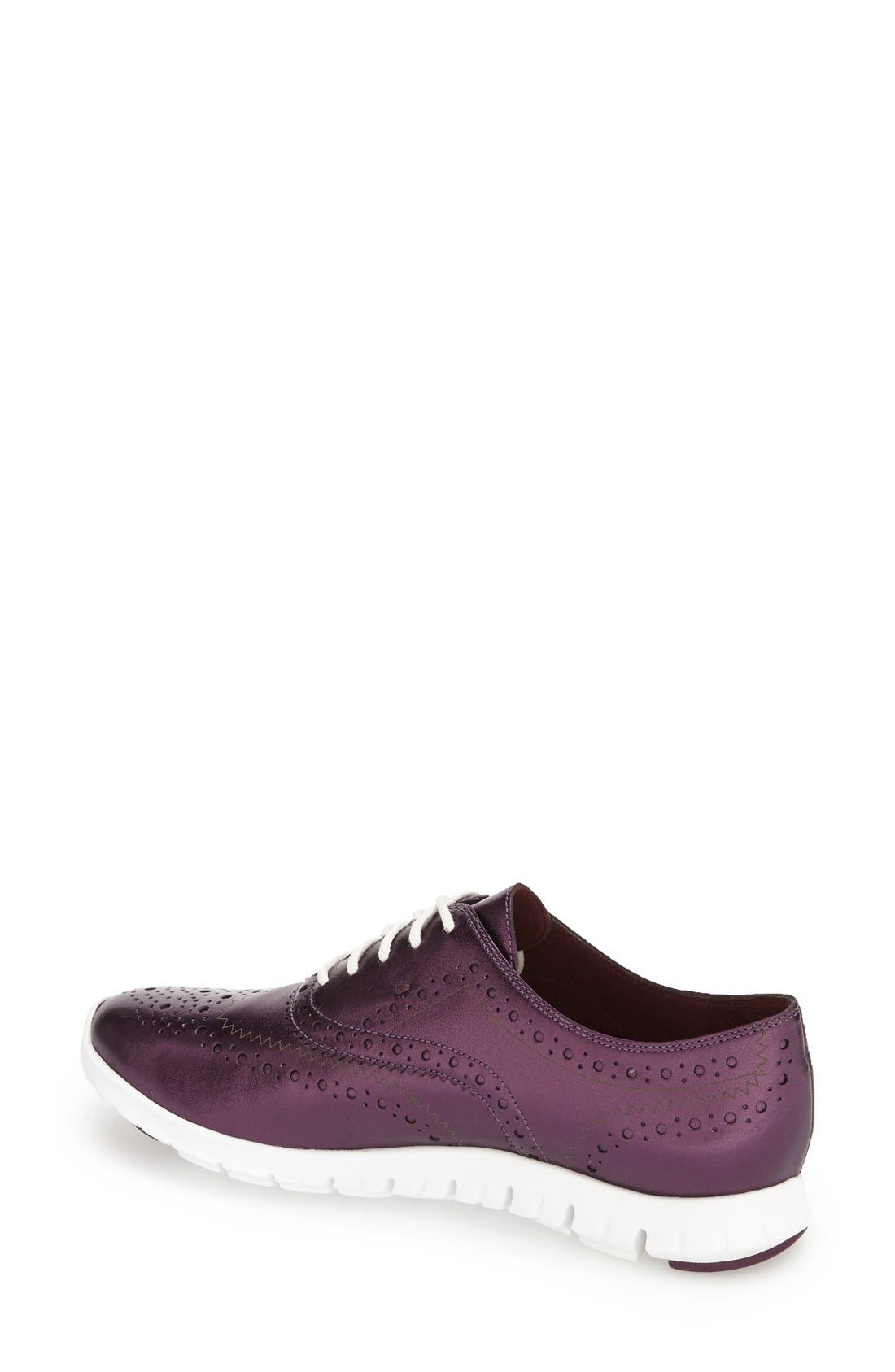 'ZeroGrand' Perforated Wingtip,                             Alternate thumbnail 53, color,