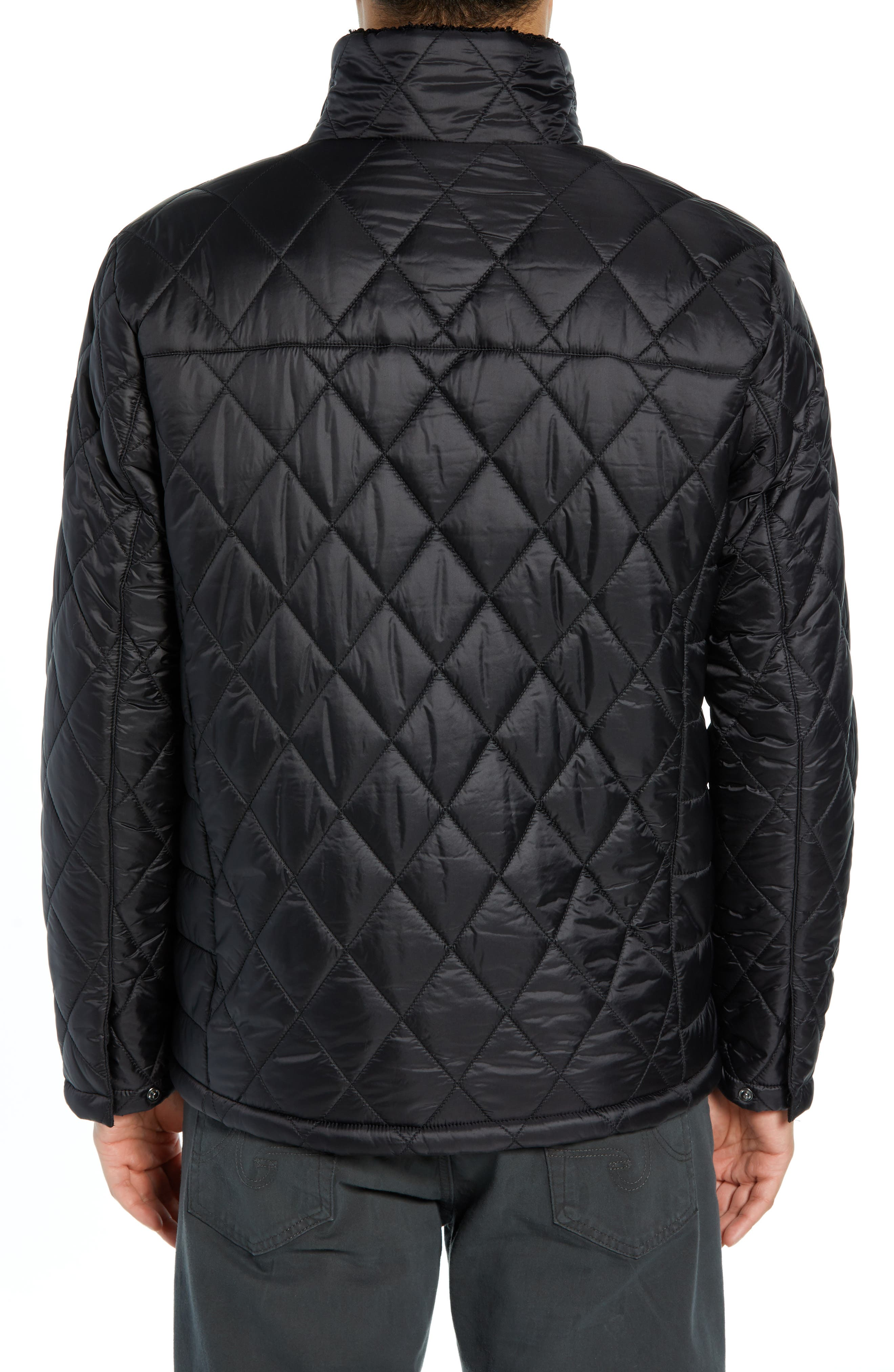 Transit Quilted Jacket,                             Alternate thumbnail 2, color,                             BLACK