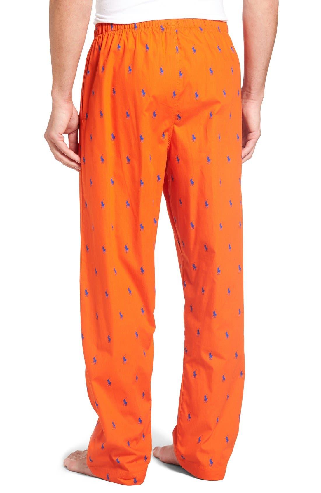 Cotton Lounge Pants,                             Alternate thumbnail 28, color,