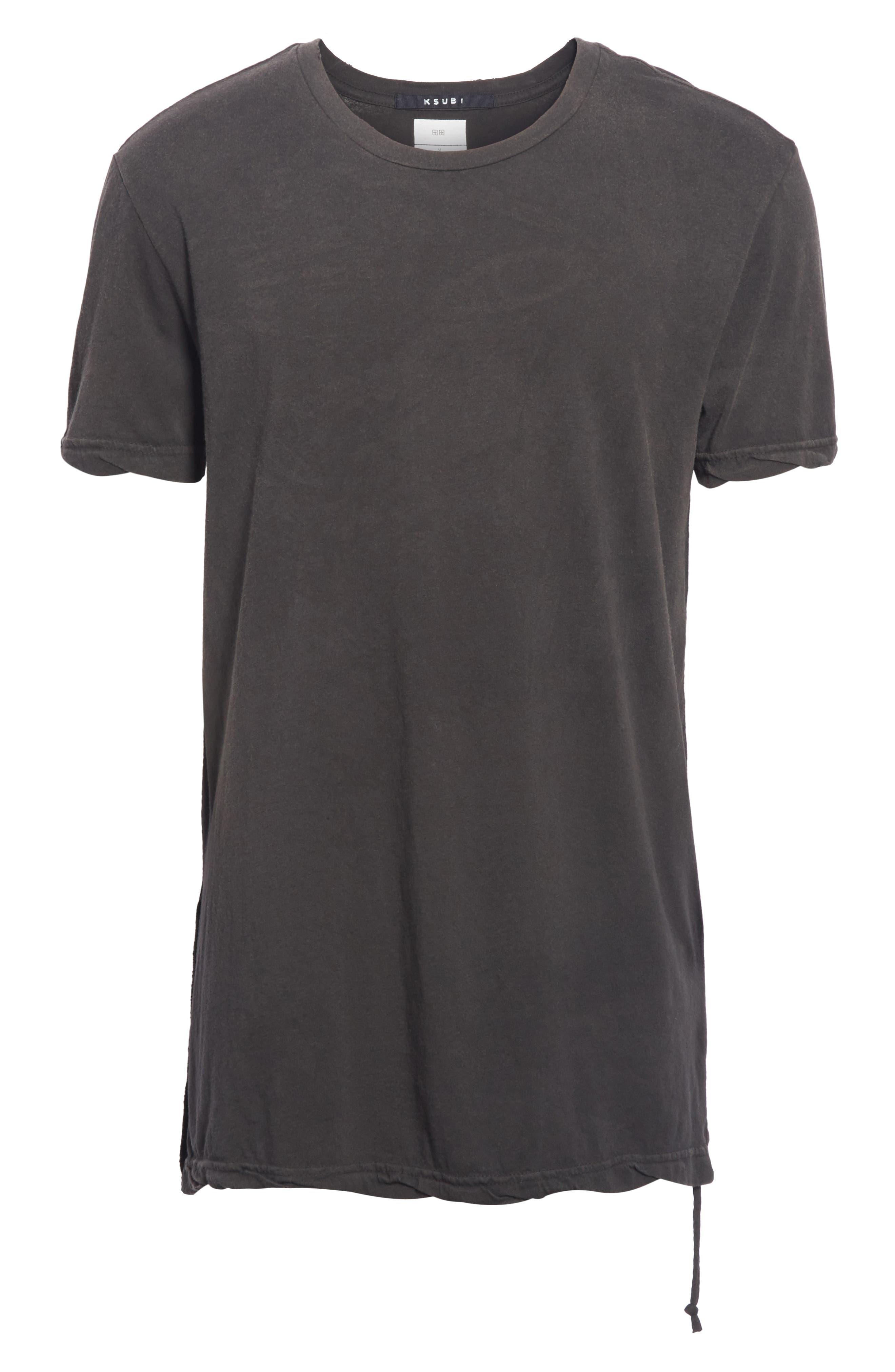 Faded T-Shirt,                             Alternate thumbnail 6, color,                             BLACK