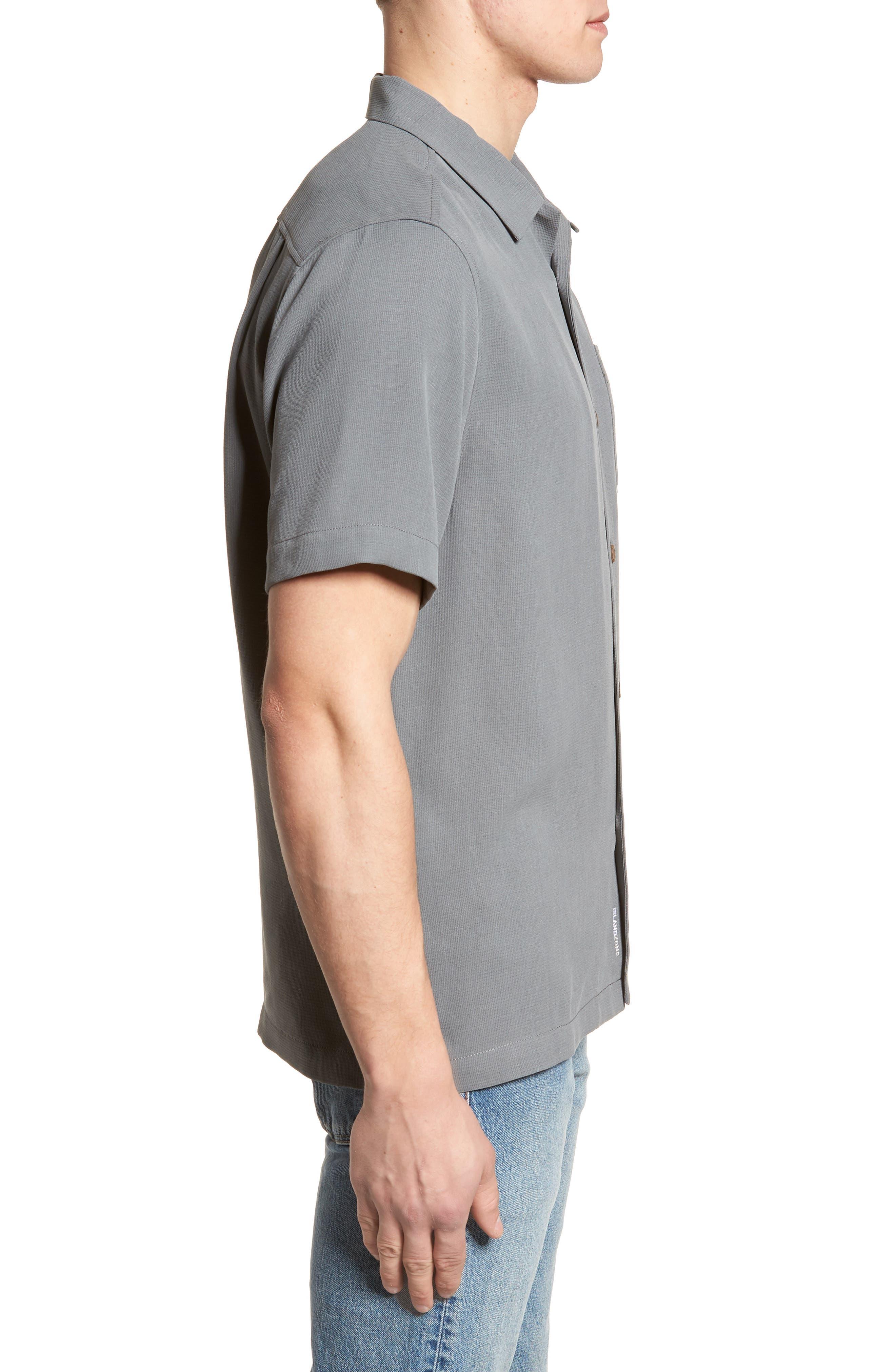 Royal Bermuda Standard Fit Silk Blend Camp Shirt,                             Alternate thumbnail 3, color,                             050