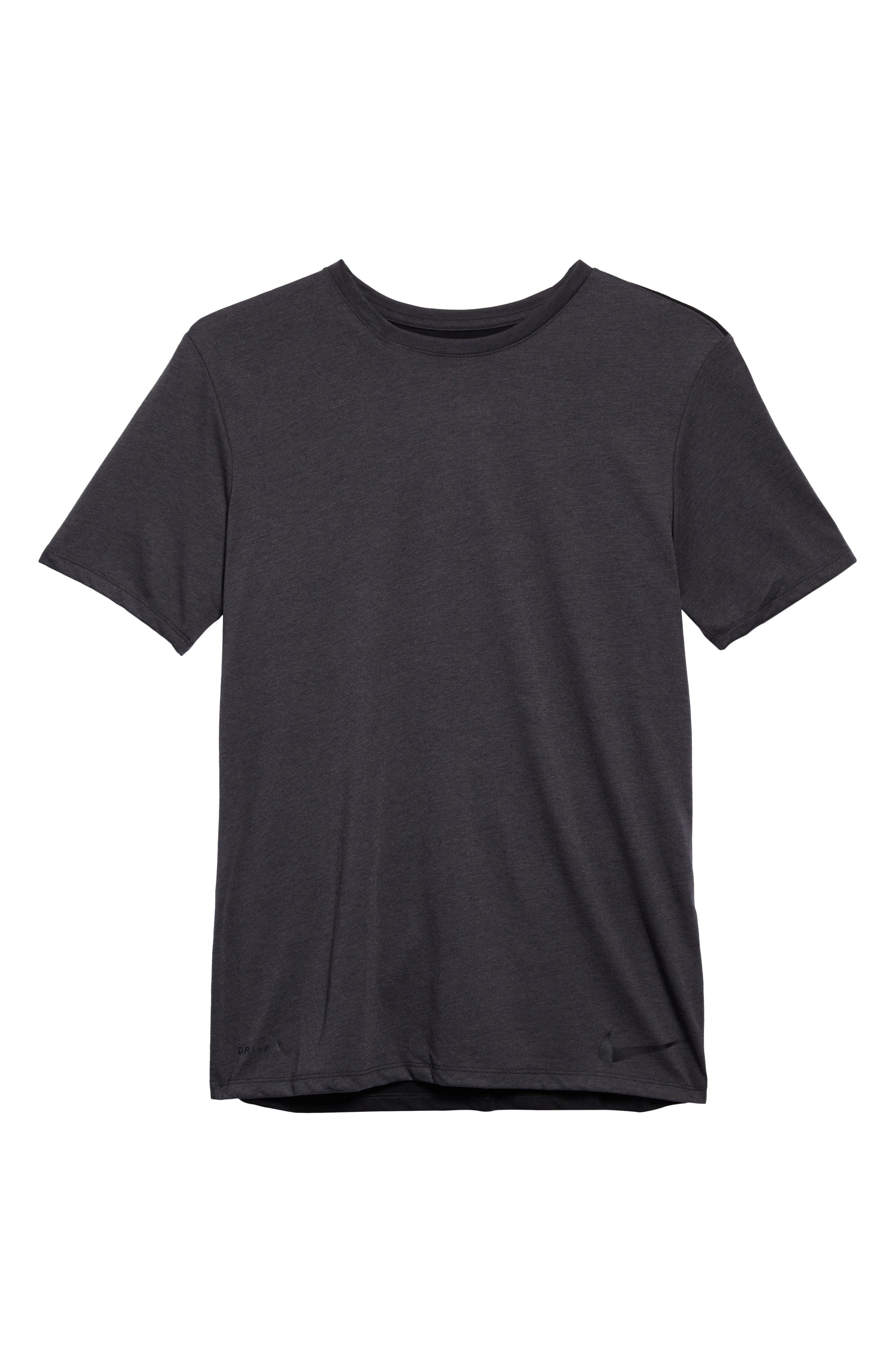 Training Dry Project X T-Shirt,                             Alternate thumbnail 6, color,                             ANTHRACITE/ BLACK