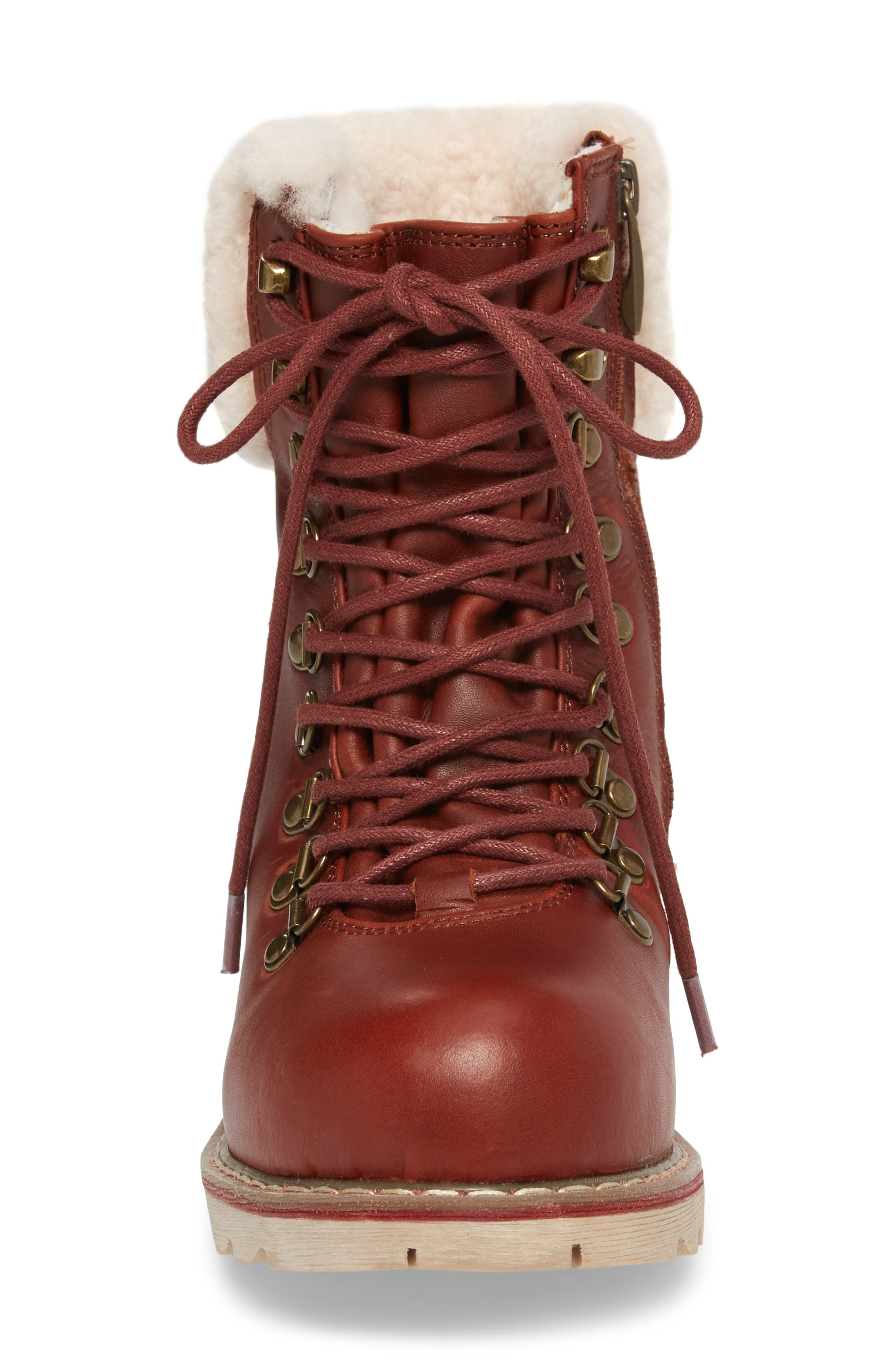 Lethbridge Waterproof Snow Boot with Genuine Shearling Cuff,                             Alternate thumbnail 15, color,