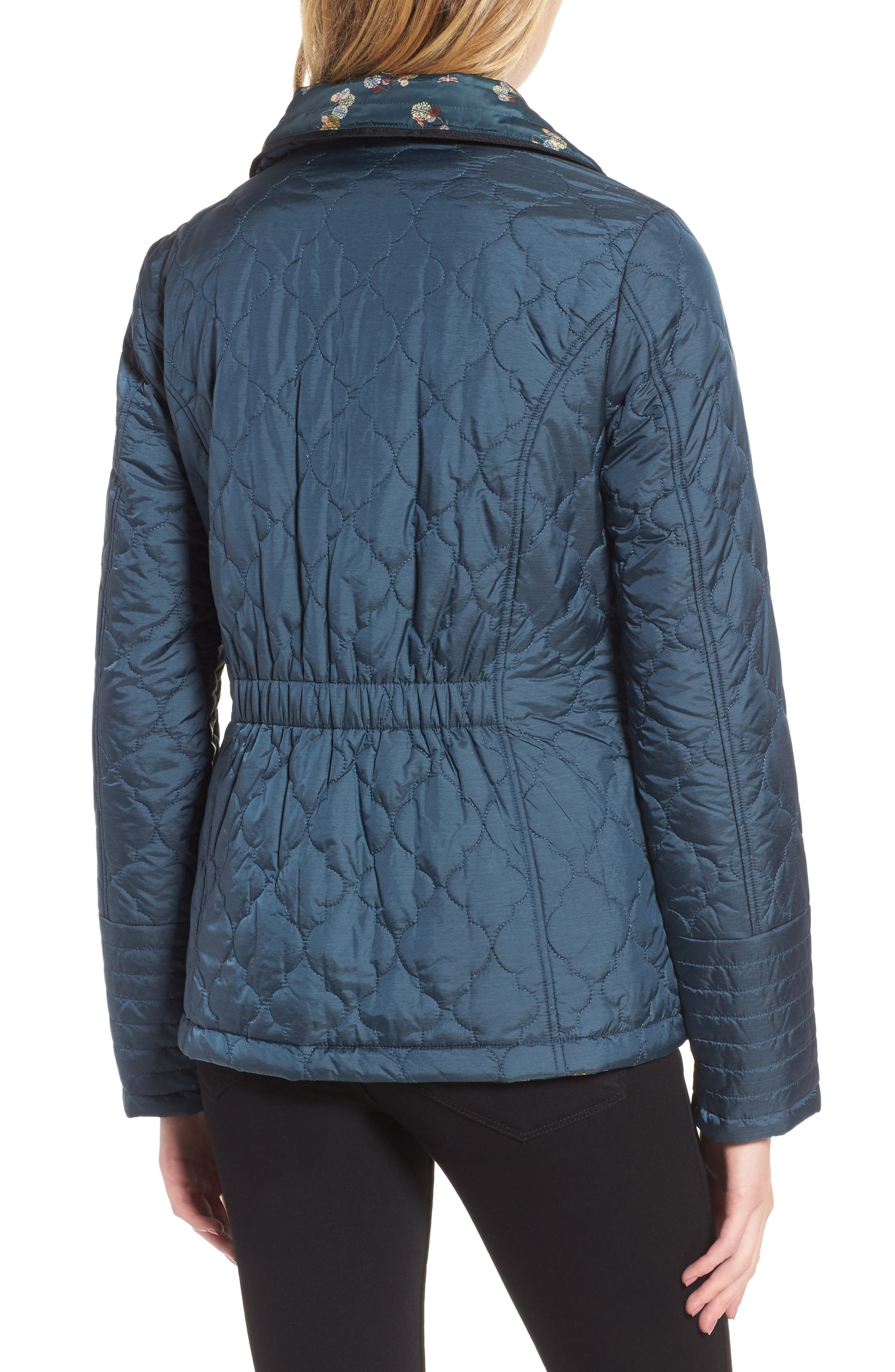 Reversible Insulated Quilted Jacket,                             Alternate thumbnail 2, color,