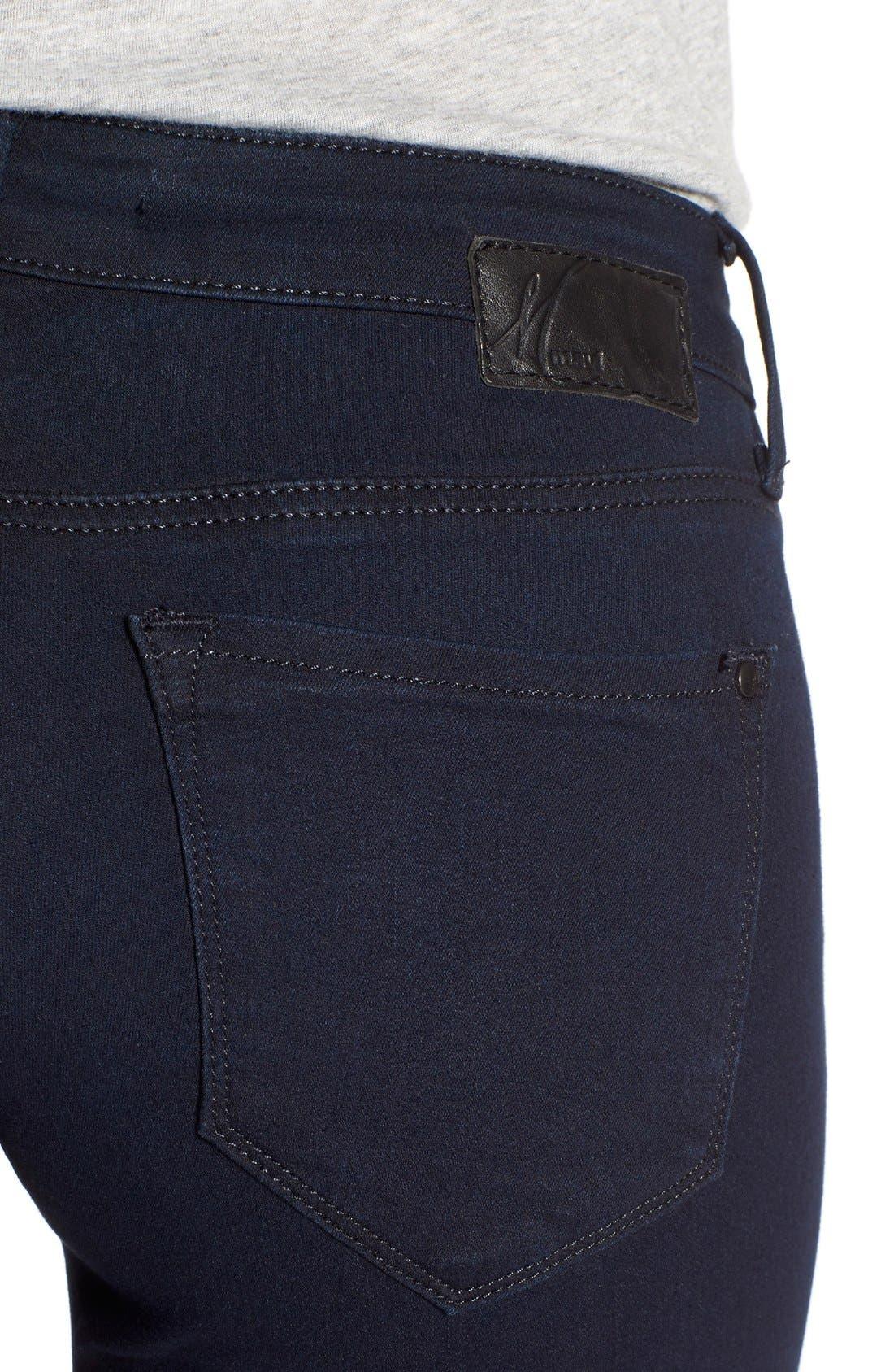 'Serena' Stretch Skinny Jeans,                             Alternate thumbnail 3, color,                             401