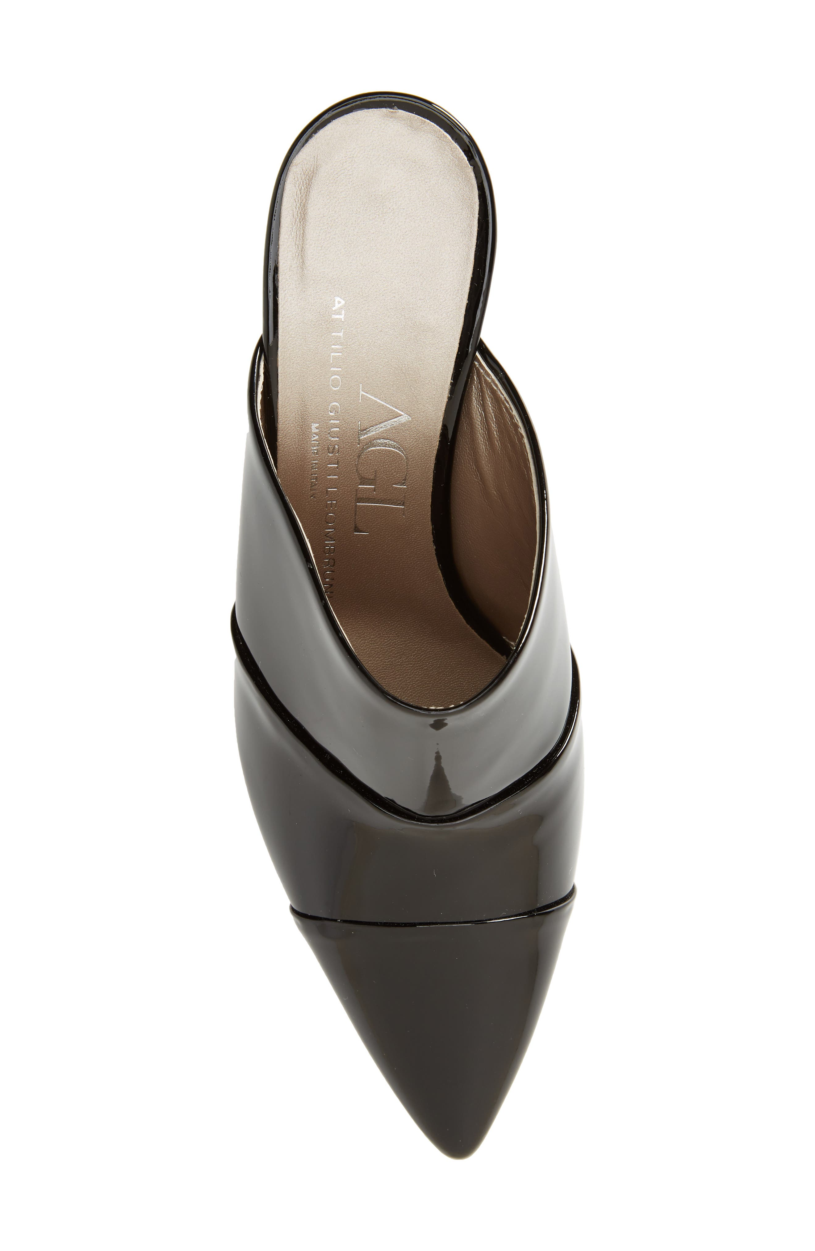 Pointy Toe Mule,                             Alternate thumbnail 5, color,                             001