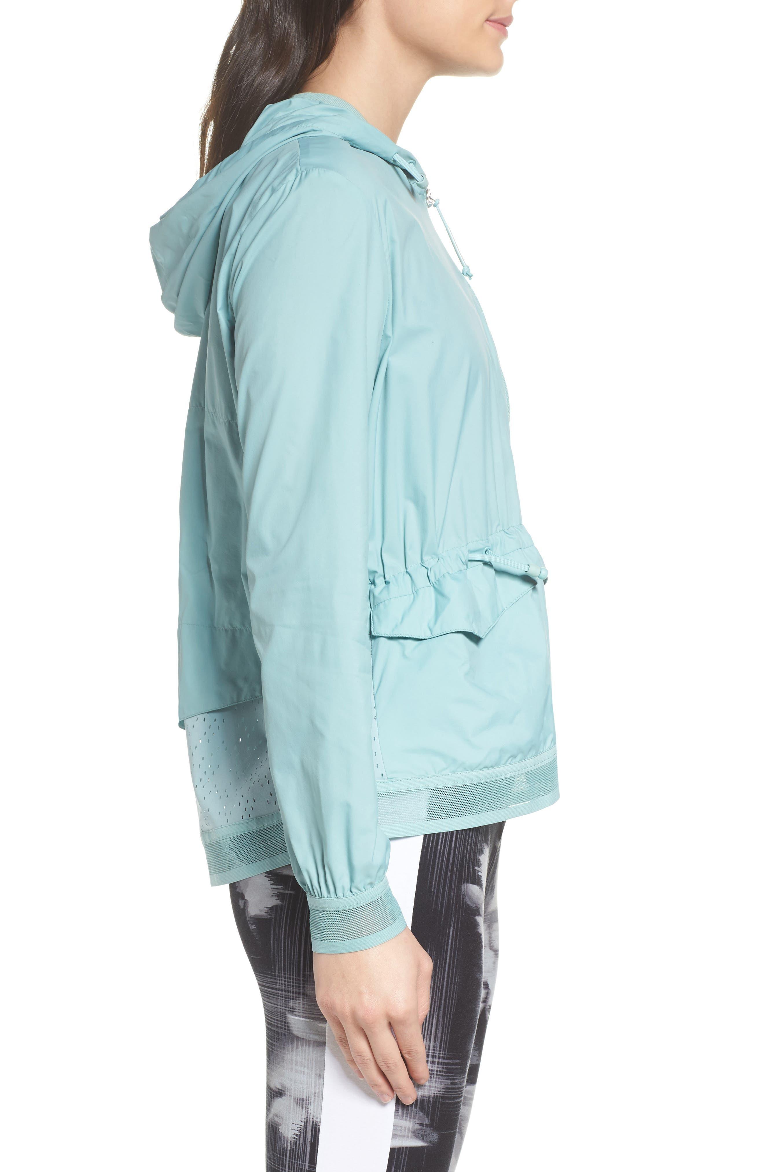Evo Foldable Windrunner Jacket,                             Alternate thumbnail 7, color,
