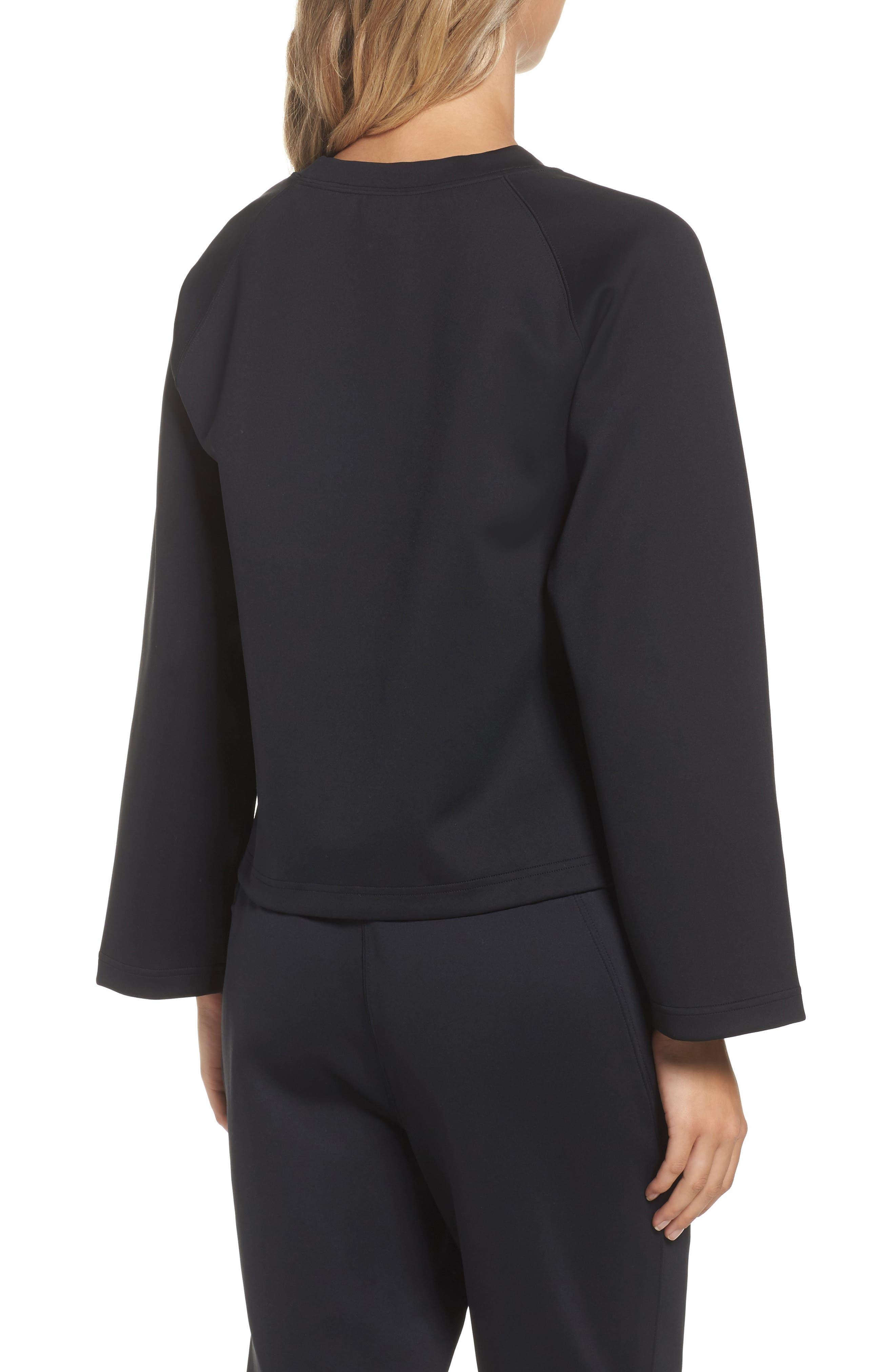 NikeLab Essentials Women's Fleece Top,                             Alternate thumbnail 3, color,