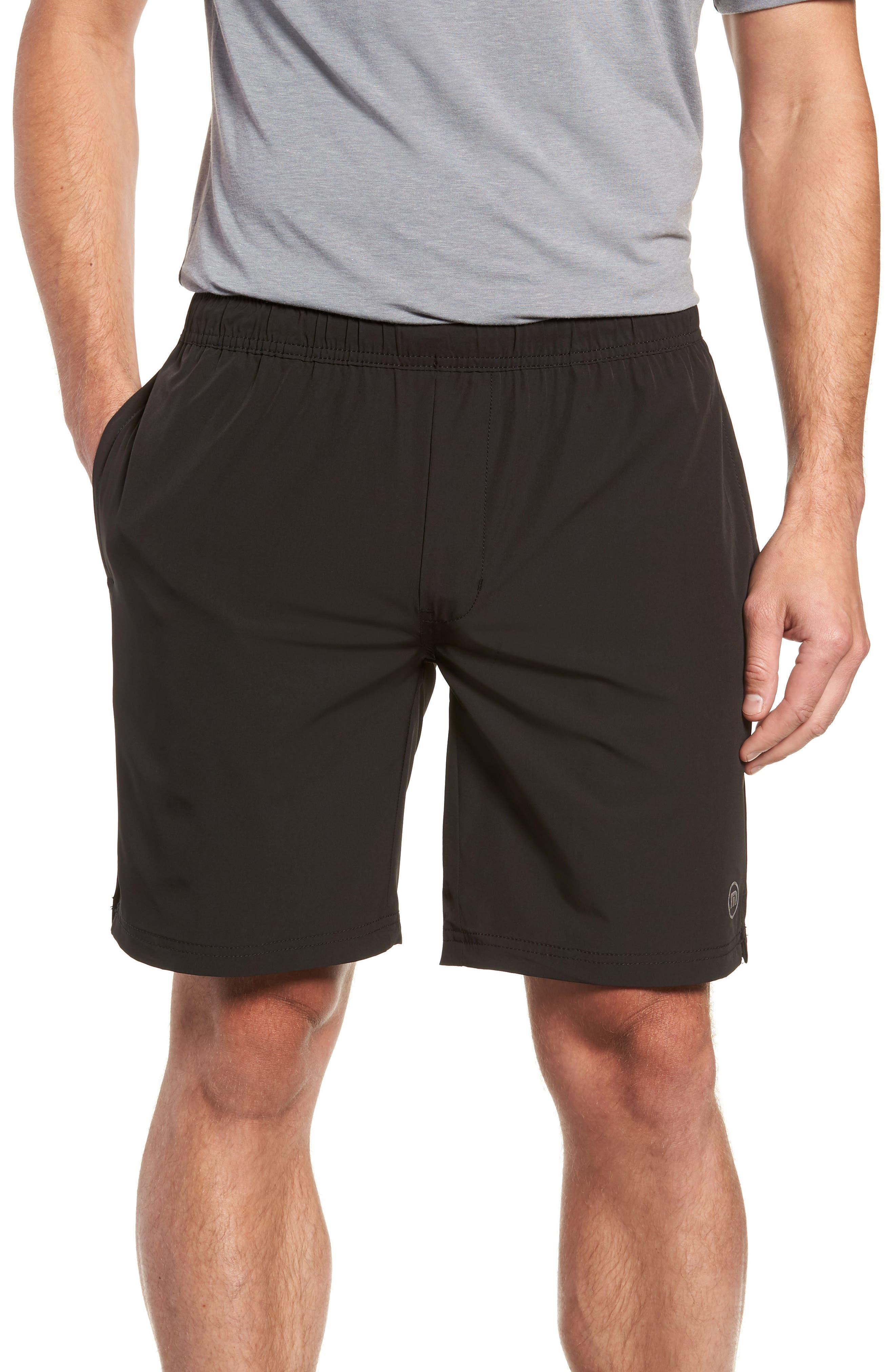 Deering Shorts,                         Main,                         color, BLACK