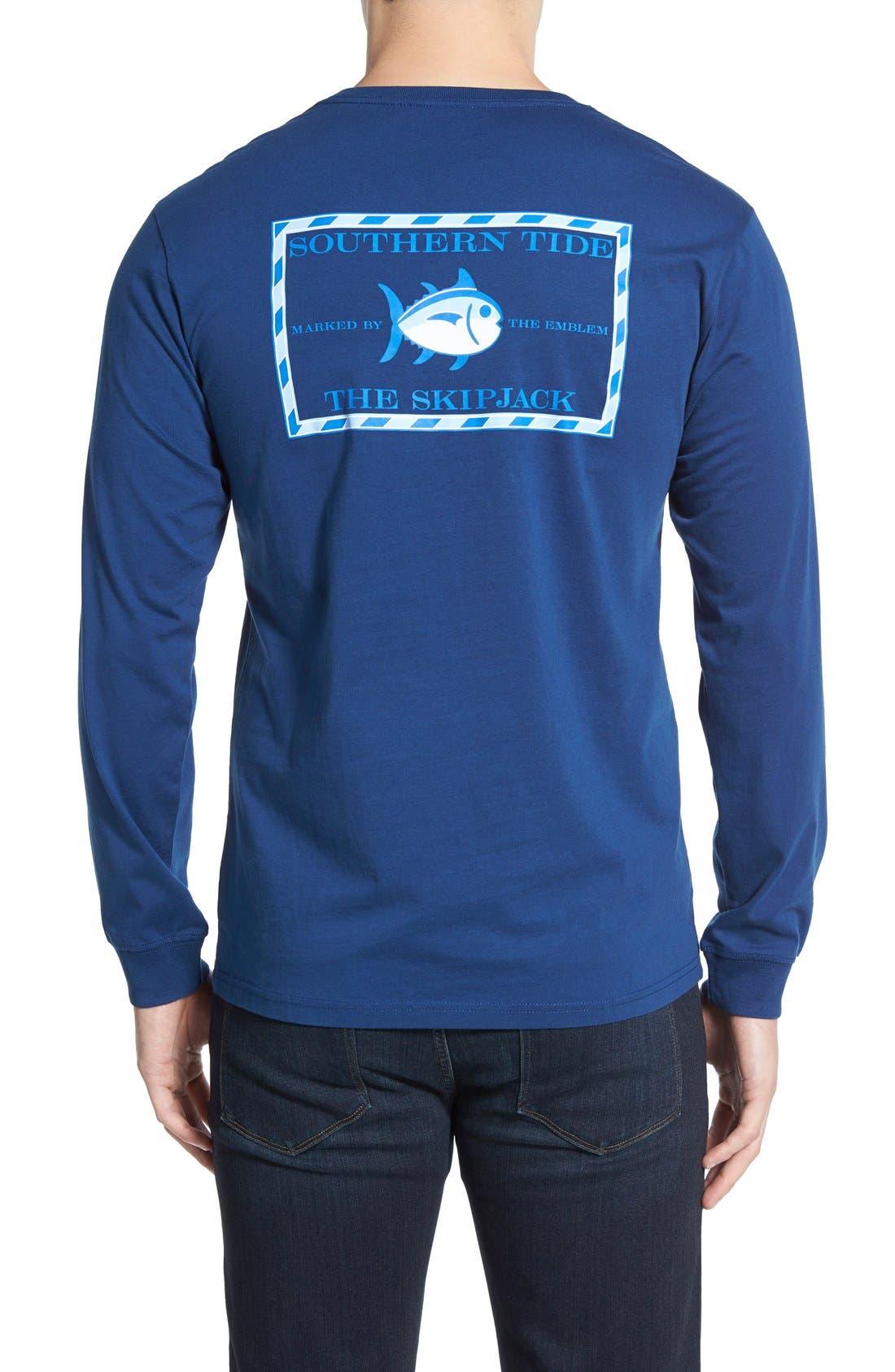 'Skipjack'Long Sleeve Graphic T-Shirt,                             Main thumbnail 2, color,