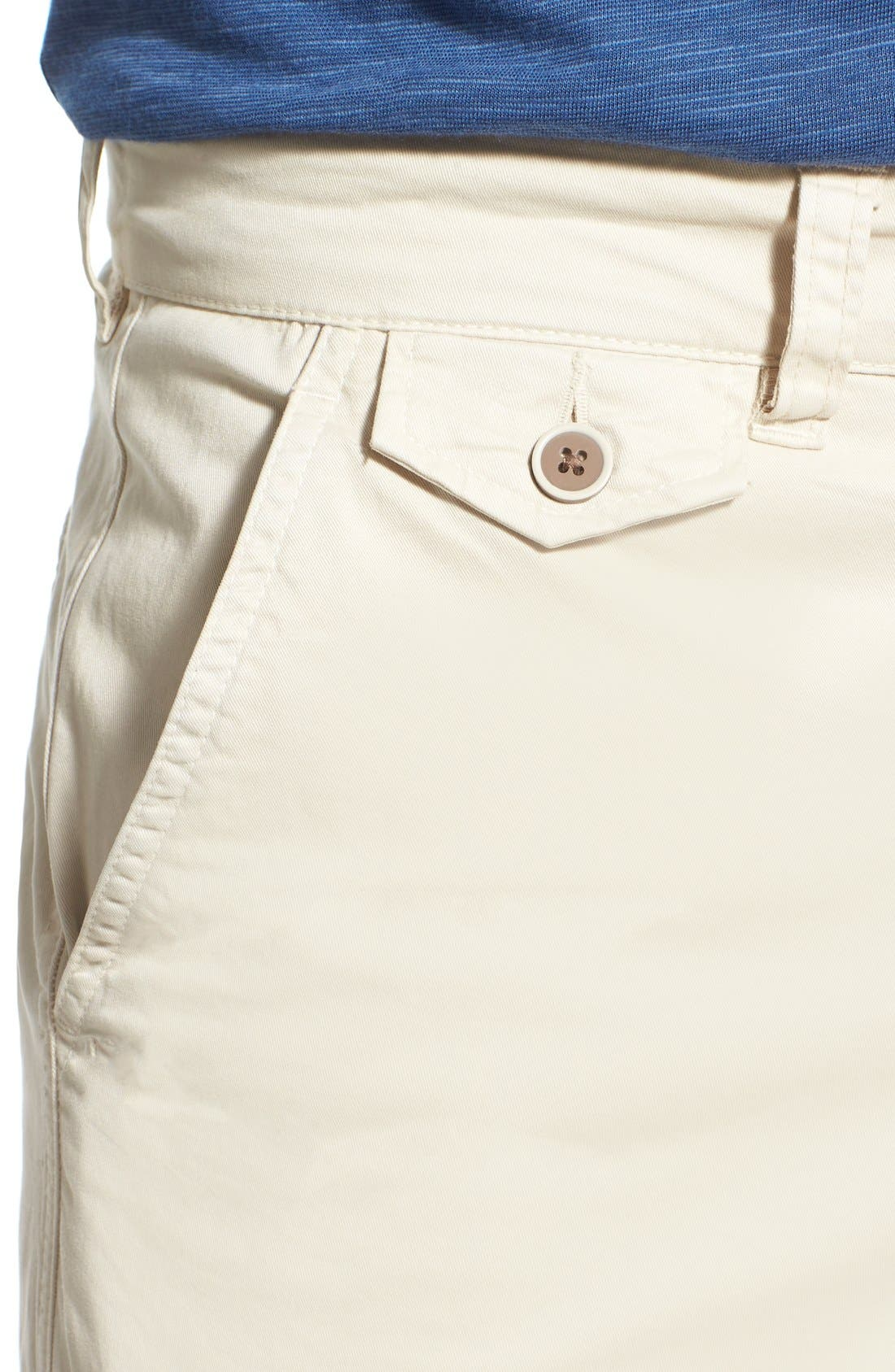 'Sunny' Stretch Twill Chino Shorts,                             Alternate thumbnail 16, color,