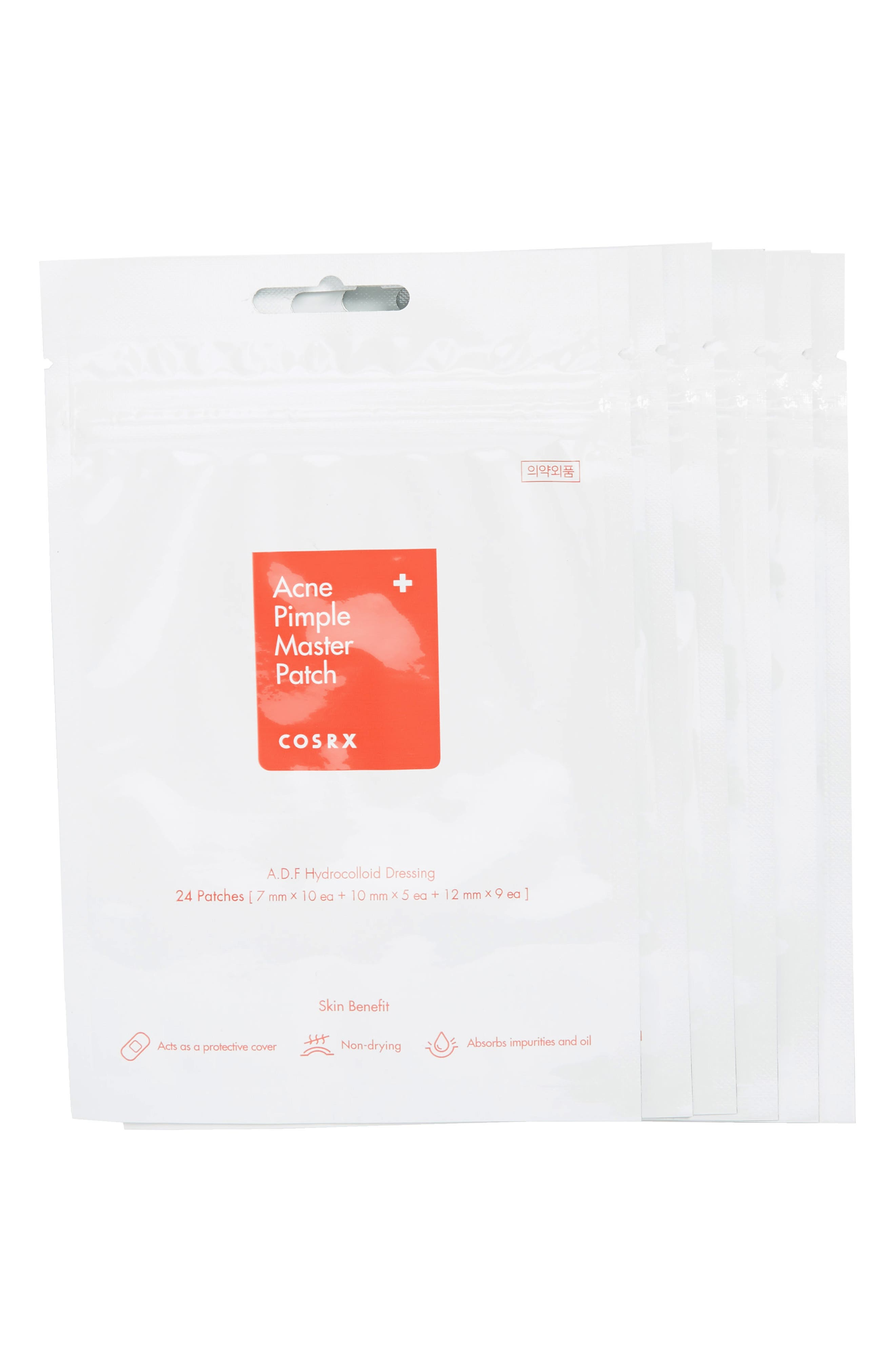 COSRX 6-Pack Acne Pimple Master Patch in Clear