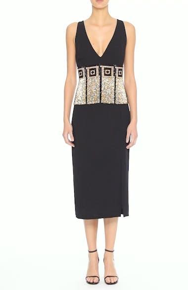 Beaded Fringe Waist Dress, video thumbnail