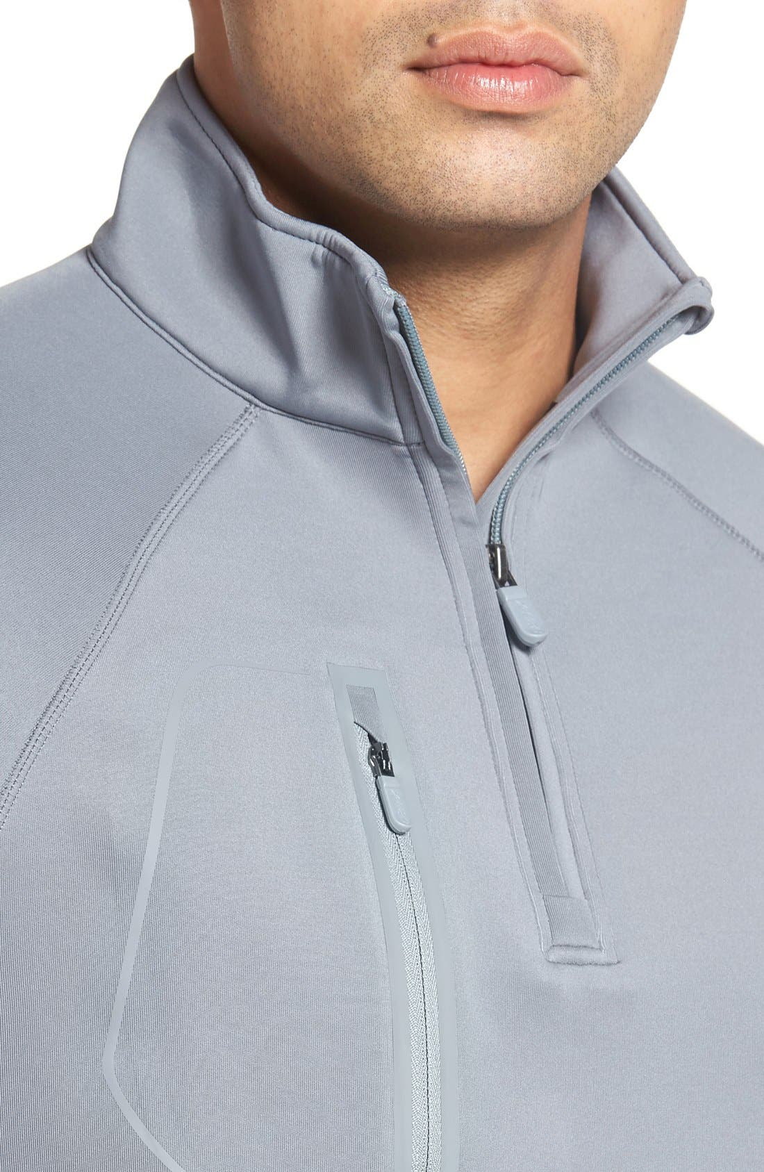 XH2O Crawford Stretch Quarter Zip Golf Pullover,                             Alternate thumbnail 43, color,