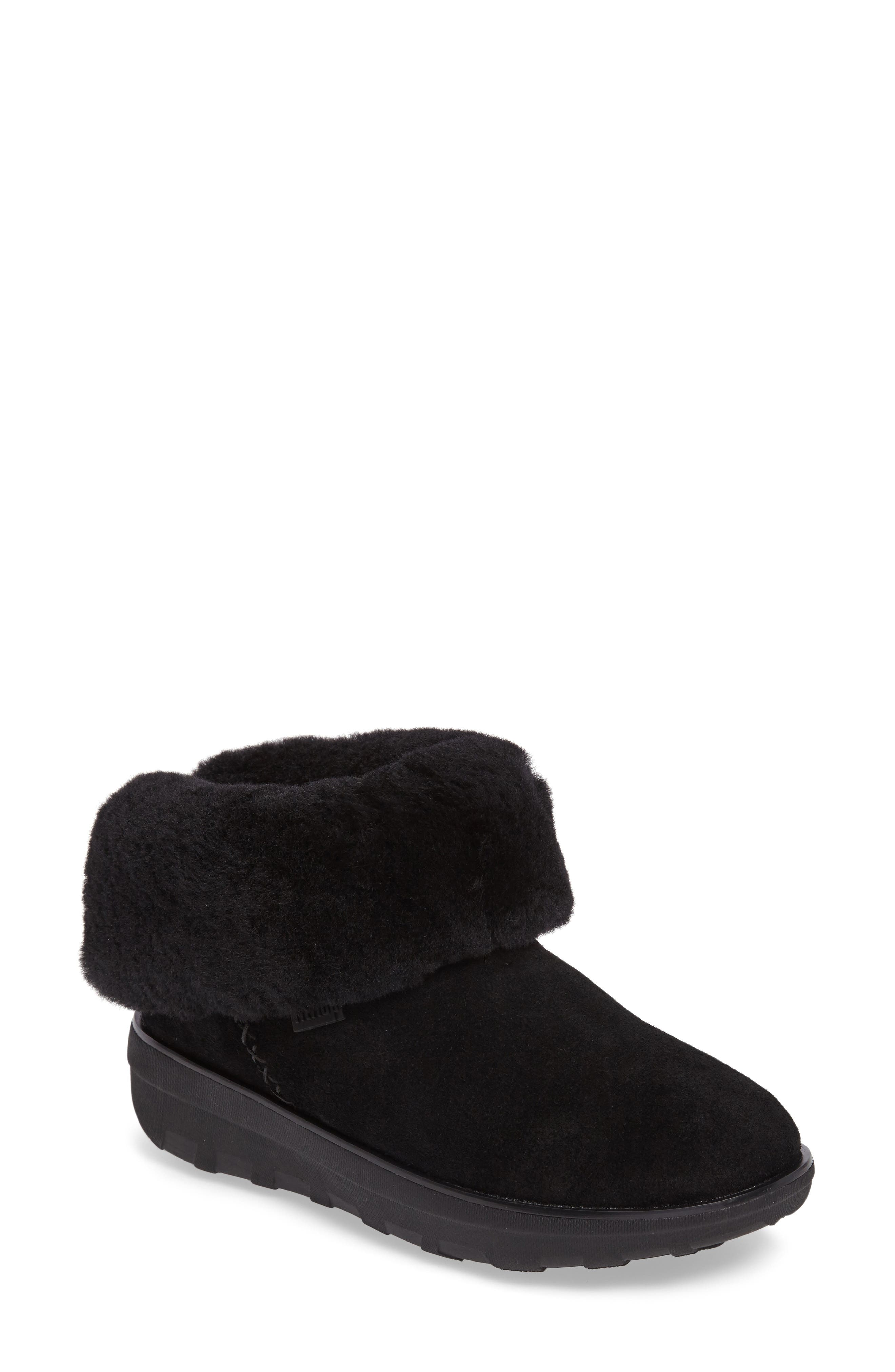 Shorty II Genuine Shearling Lined Boot,                             Main thumbnail 1, color,                             009