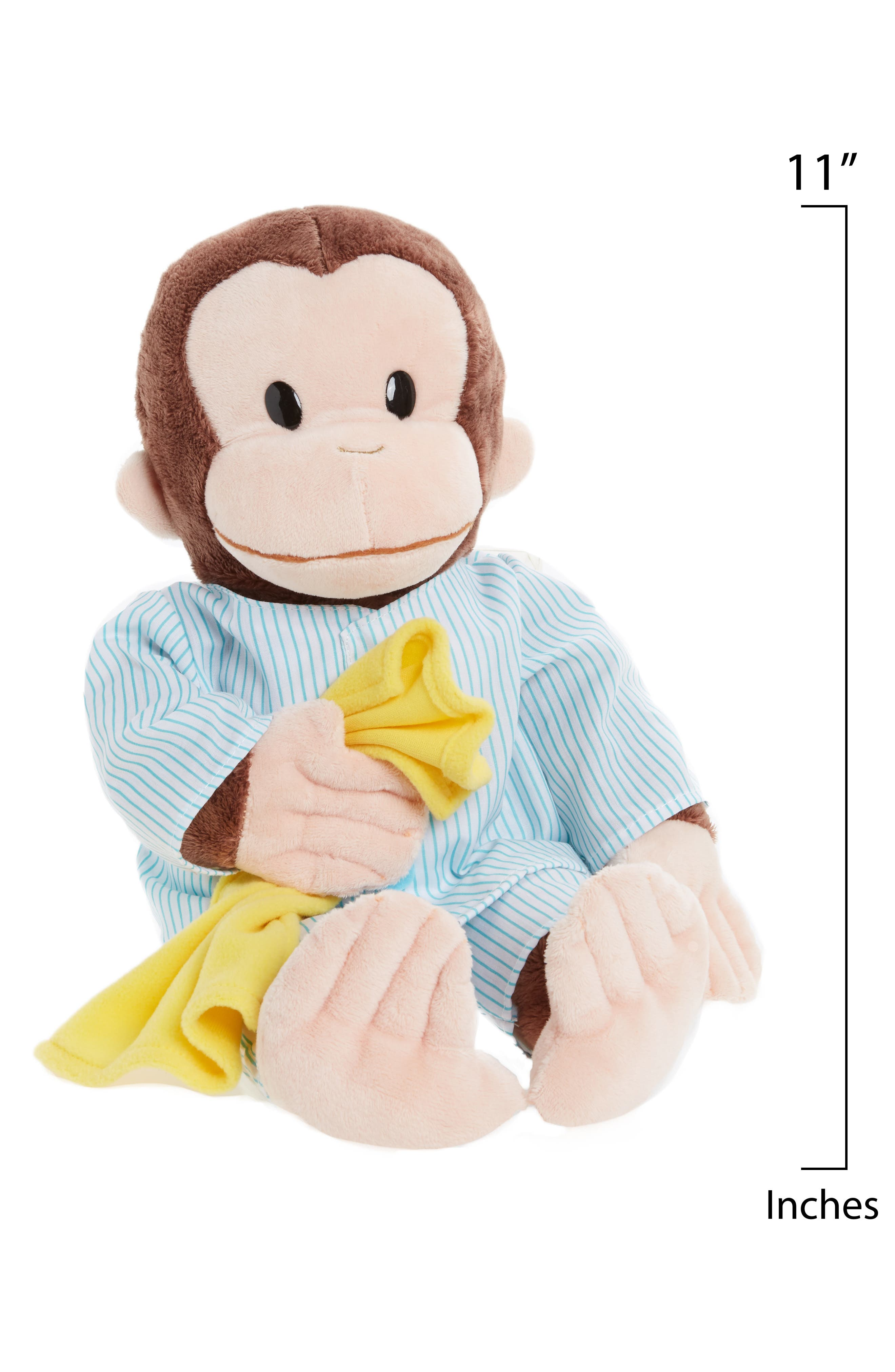 GUND,                             'Sleepy Curious George<sup>™</sup>' Stuffed Animal,                             Alternate thumbnail 2, color,                             200