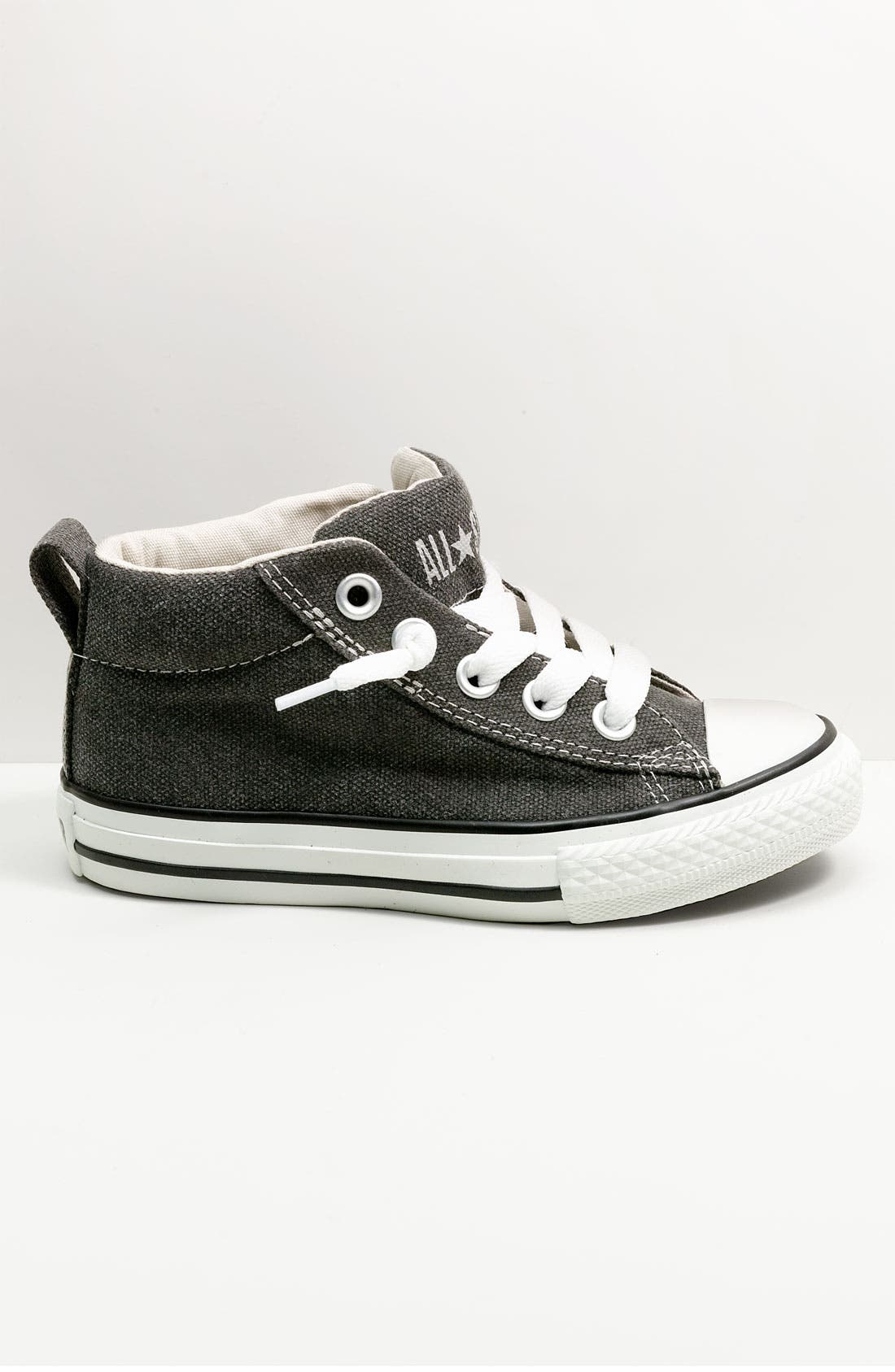 Chuck Taylor<sup>®</sup> 'Street Mid Cab' Slip-On Sneaker,                             Main thumbnail 1, color,                             007