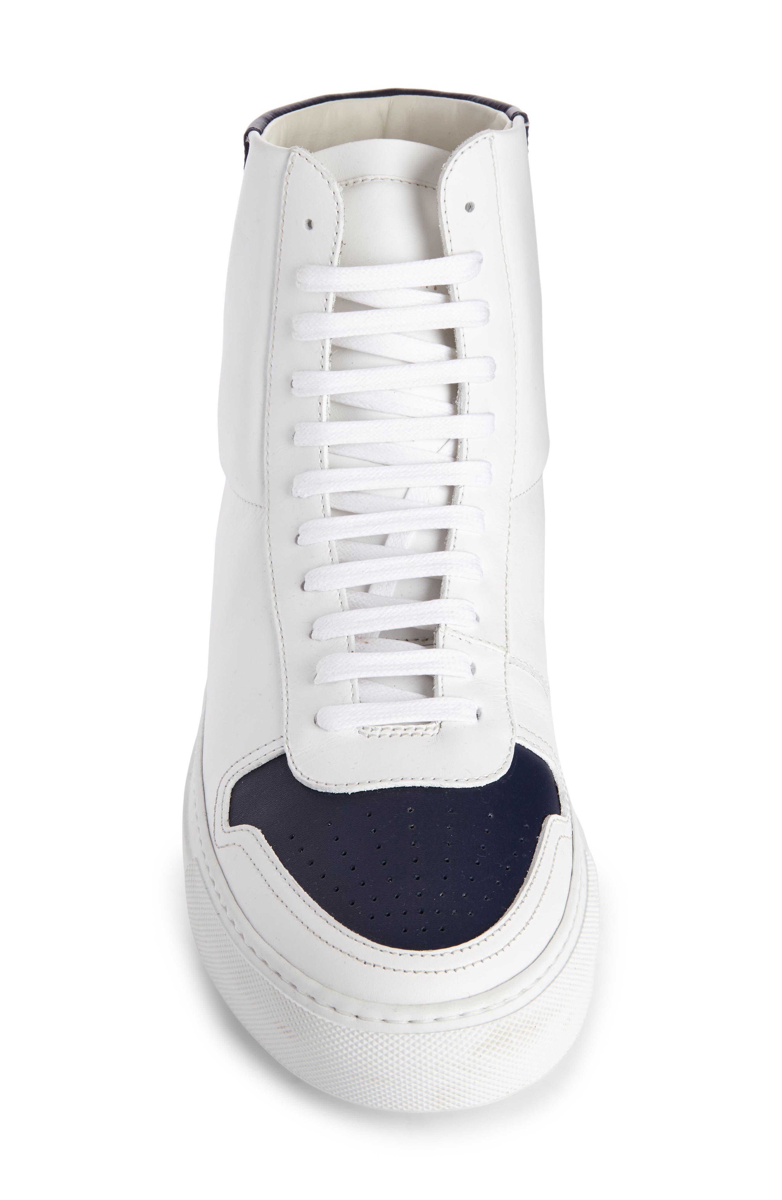 High Top Sneaker,                             Alternate thumbnail 4, color,                             131