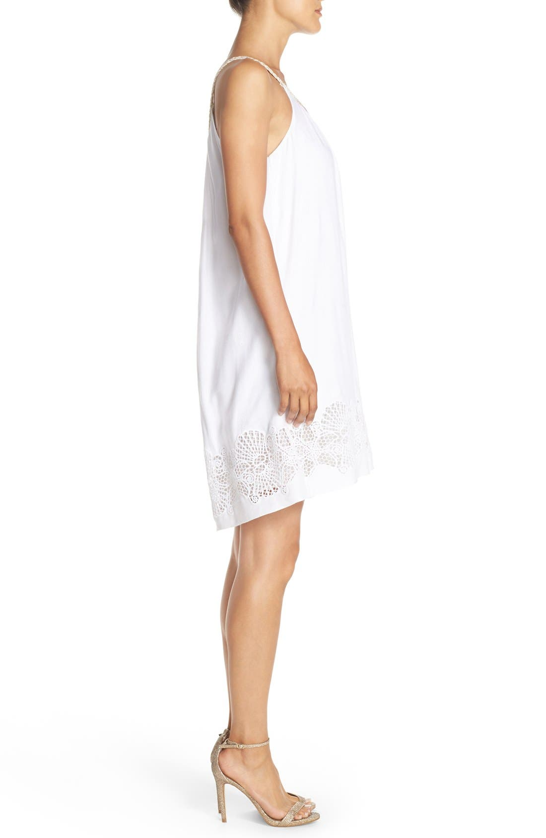 LILLY PULITZER<SUP>®</SUP>,                             'Sienna' Embroidered Swing Dress,                             Alternate thumbnail 2, color,                             115