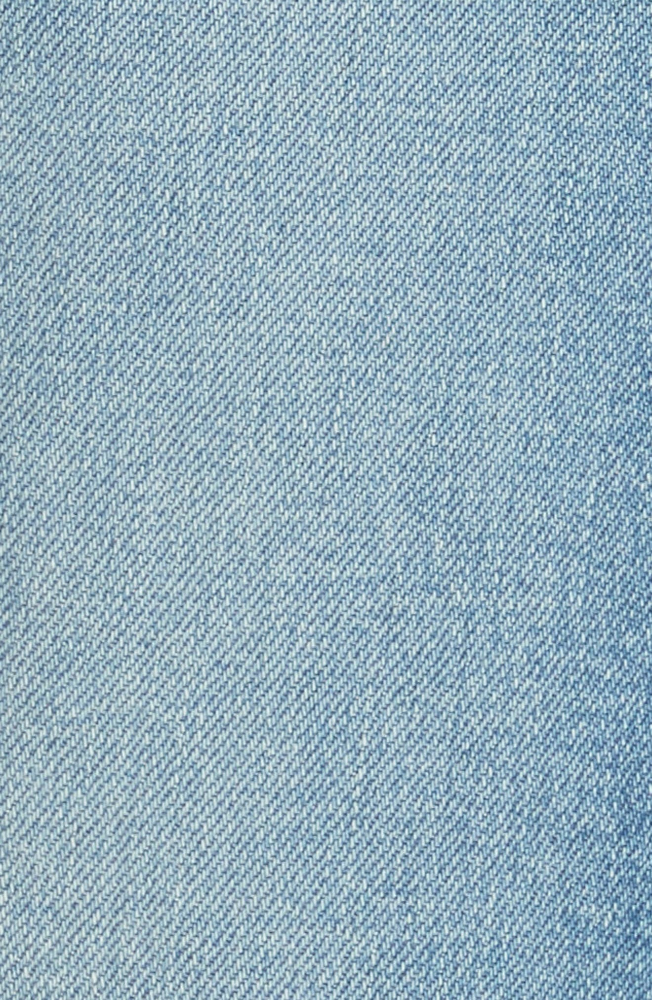 5-Pocket Skinny Jeans,                             Alternate thumbnail 5, color,                             LIGHT WASH