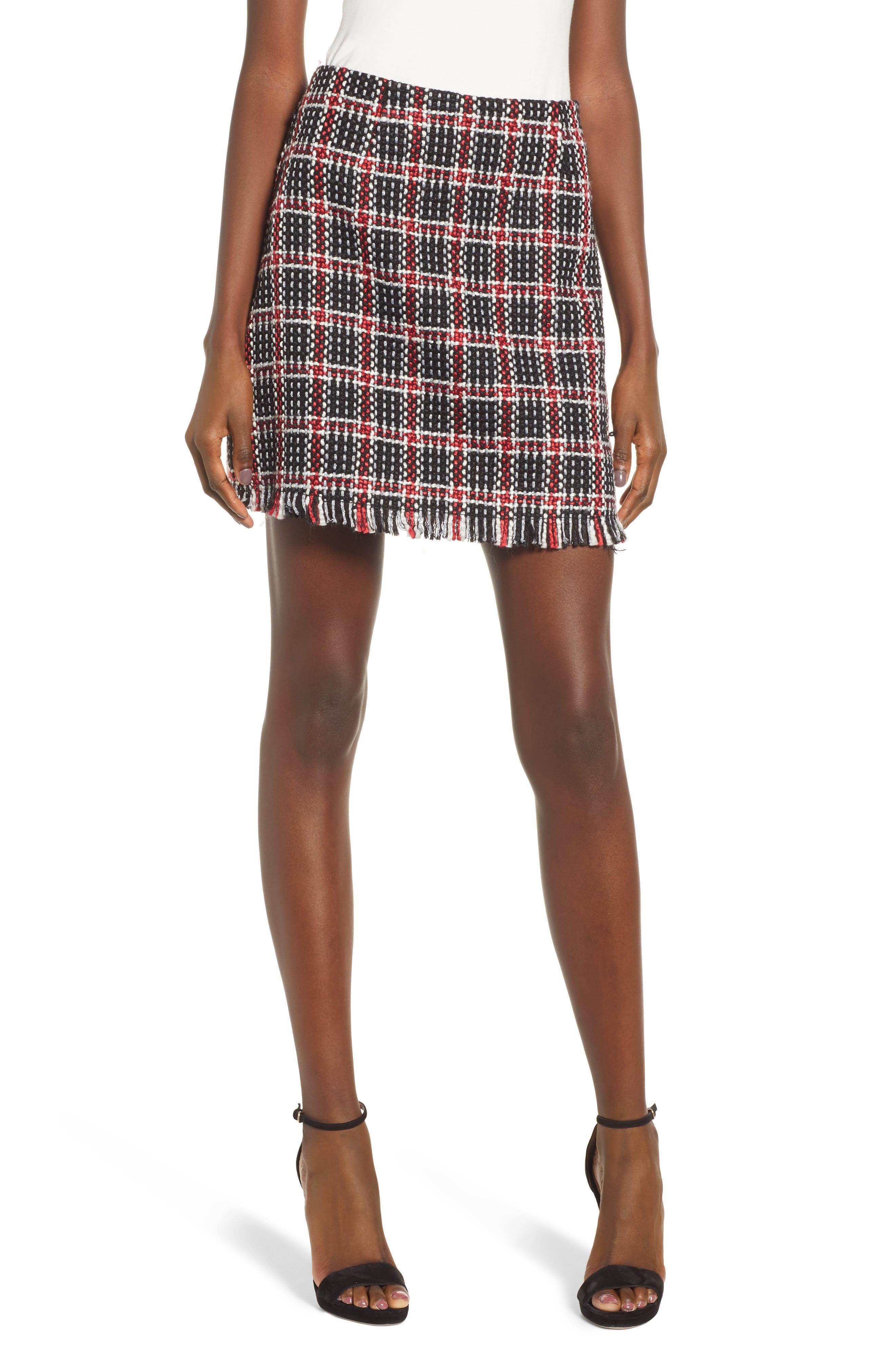 Love, Fire Boucle Miniskirt