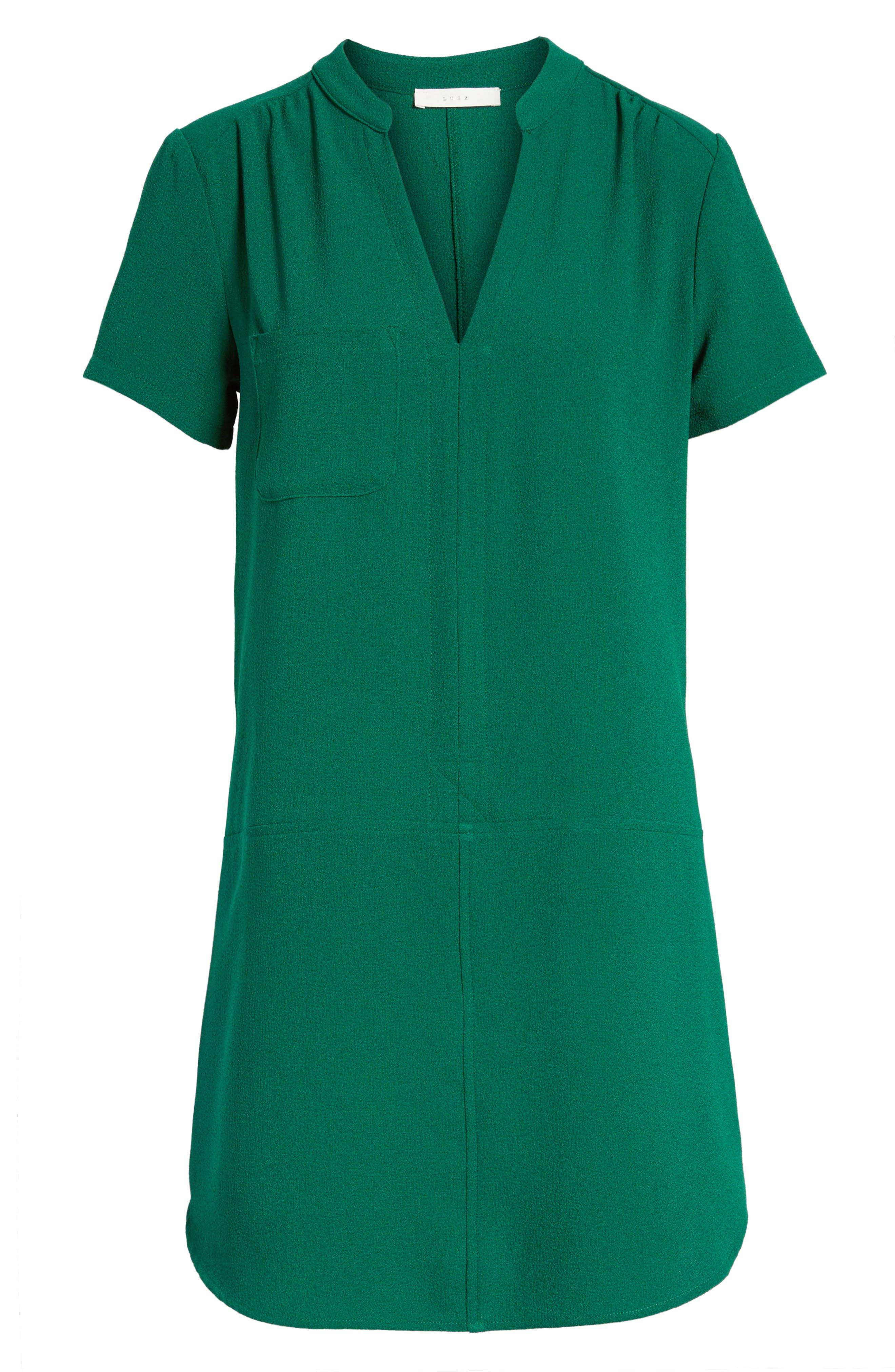 Hailey Crepe Dress,                             Alternate thumbnail 170, color,