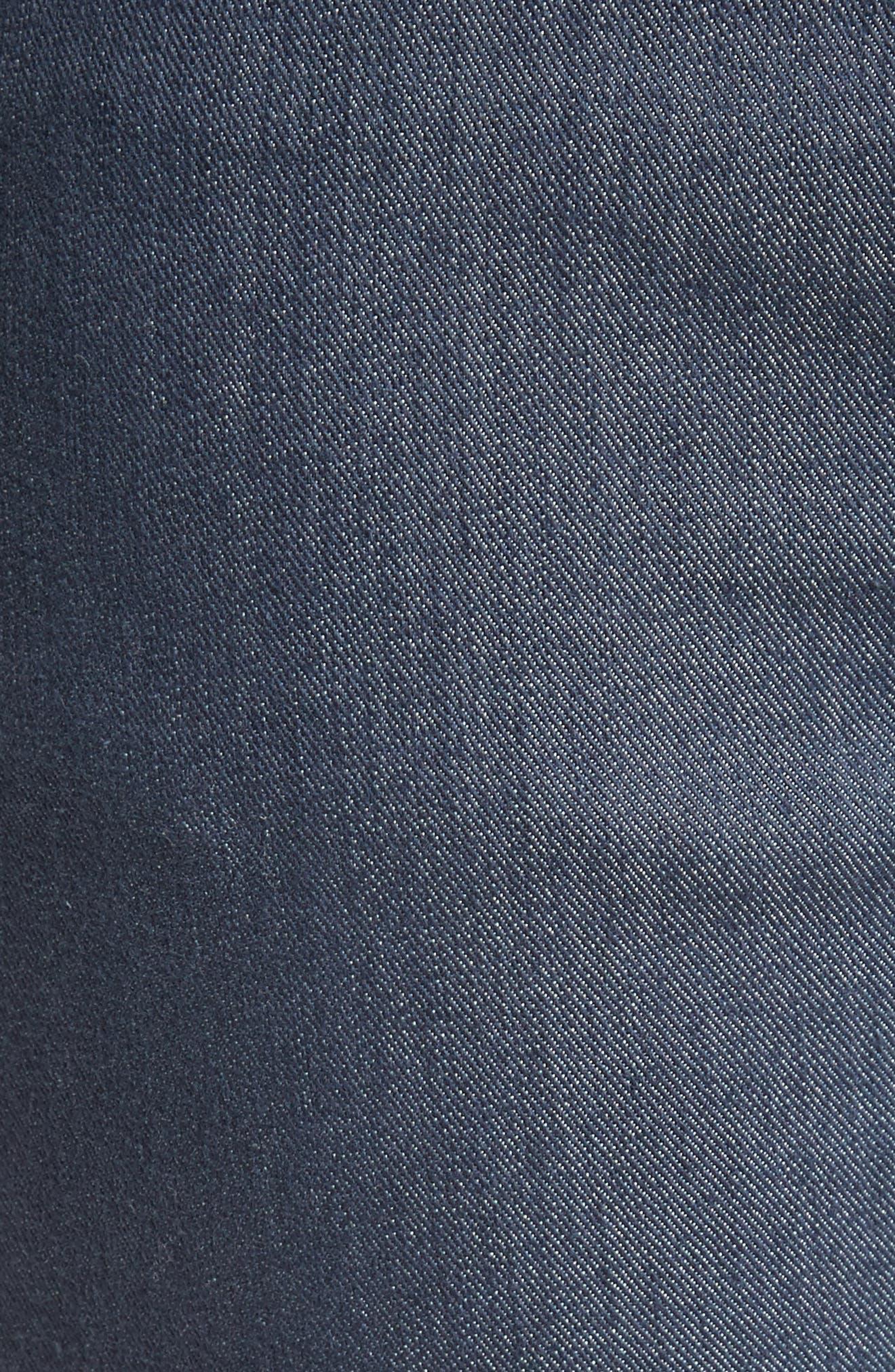 Stretch Denim Slim Ankle Pants,                             Alternate thumbnail 6, color,                             400
