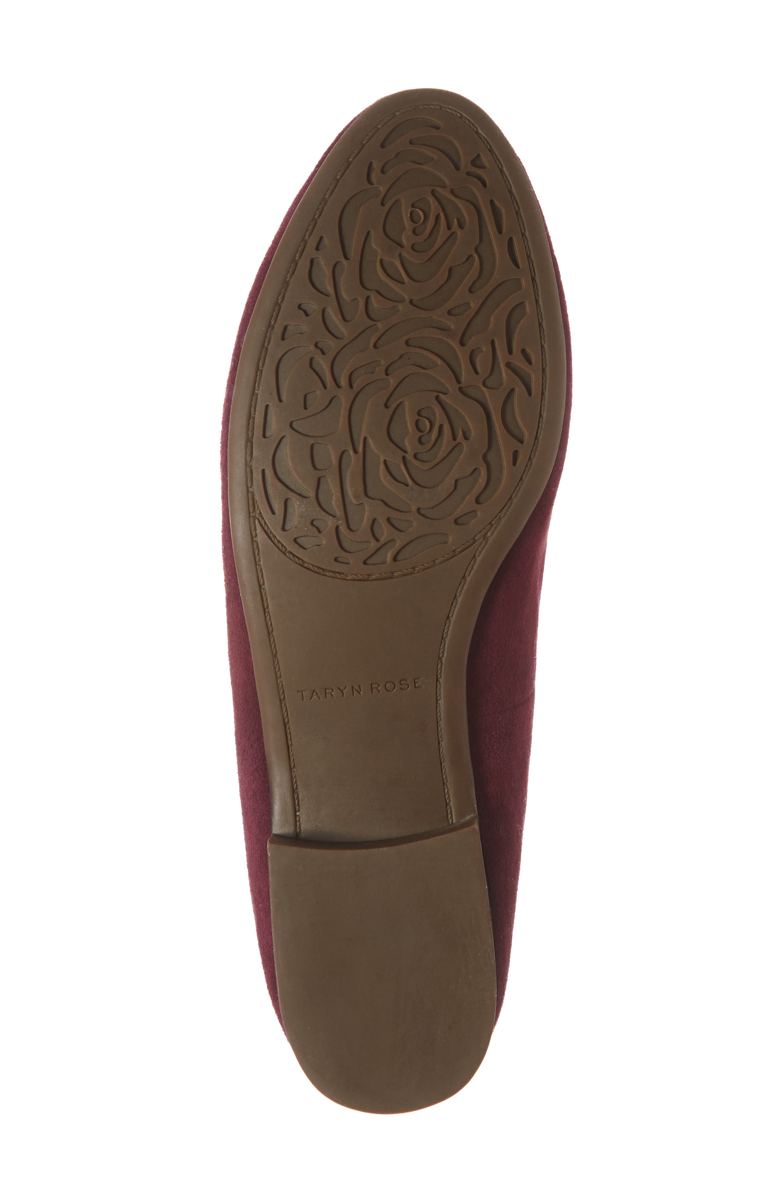TARYN ROSE,                             Bryanna Loafer,                             Alternate thumbnail 6, color,                             FIG SUEDE