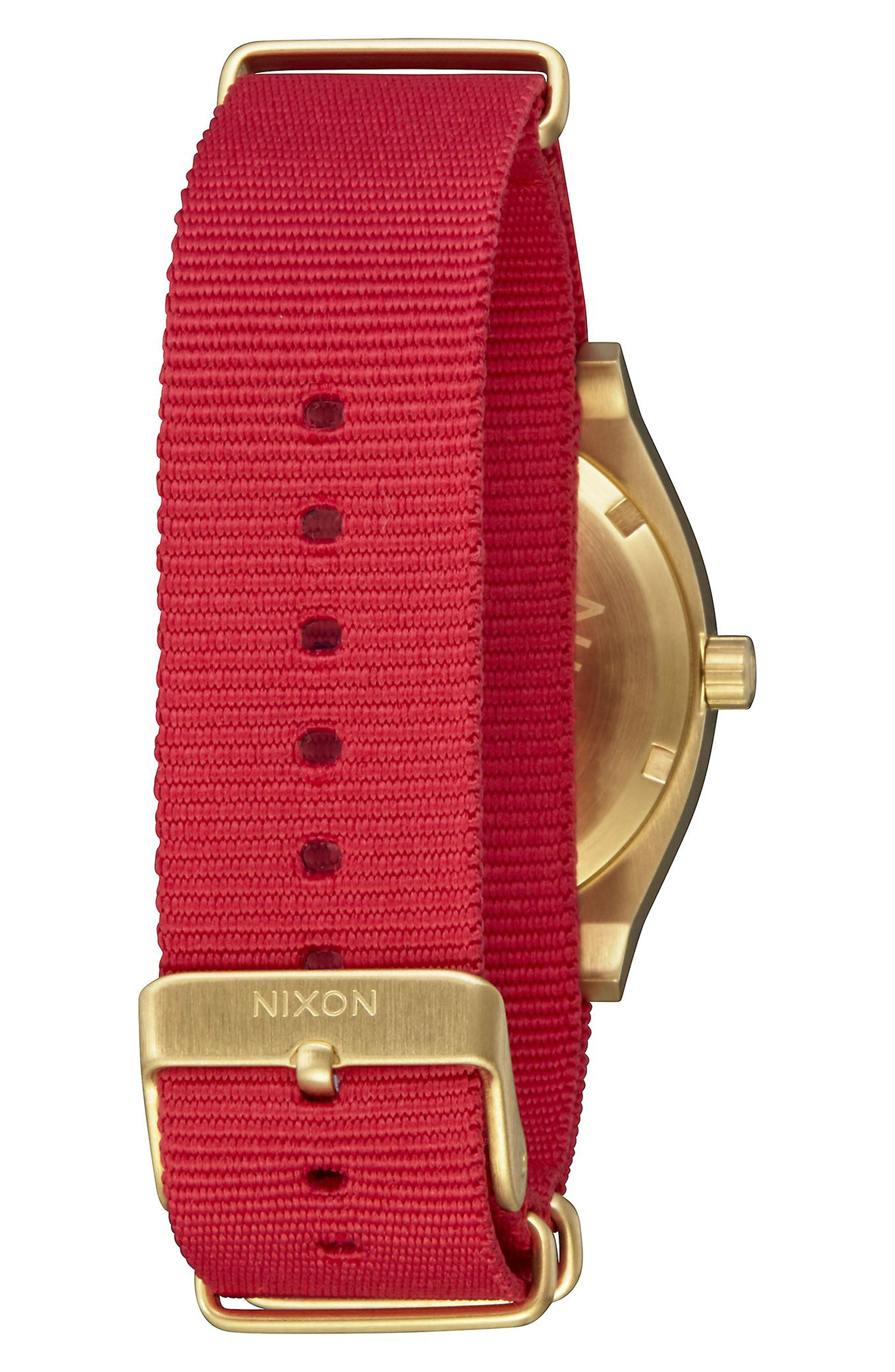 The Time Teller NATO Strap Watch, 37mm,                             Alternate thumbnail 6, color,