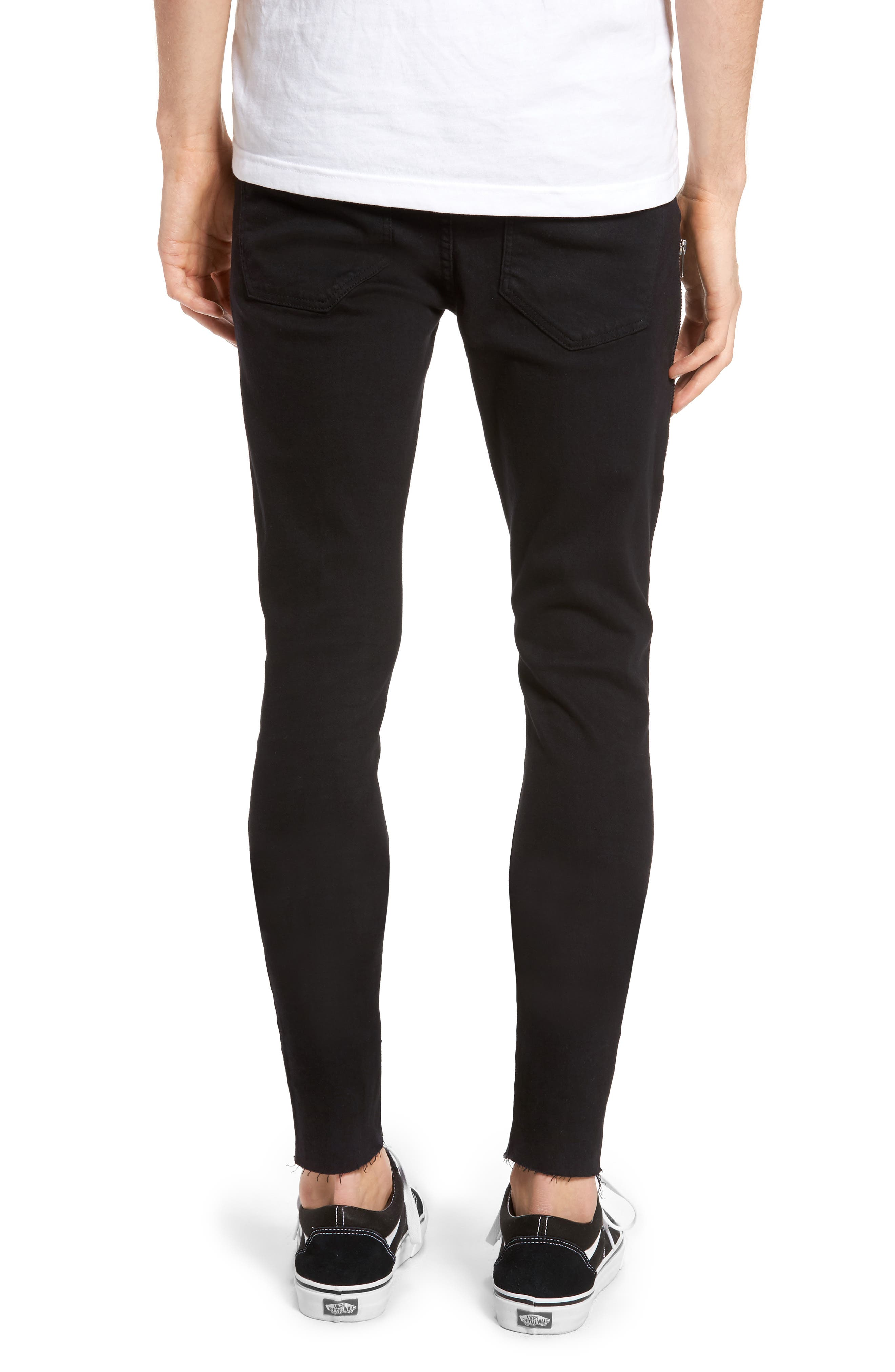 Leroy Skinny Fit Jeans,                             Alternate thumbnail 2, color,                             001